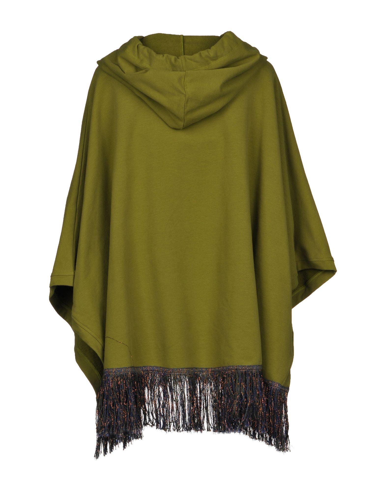 COATS & JACKETS Jijil Green Woman Cotton