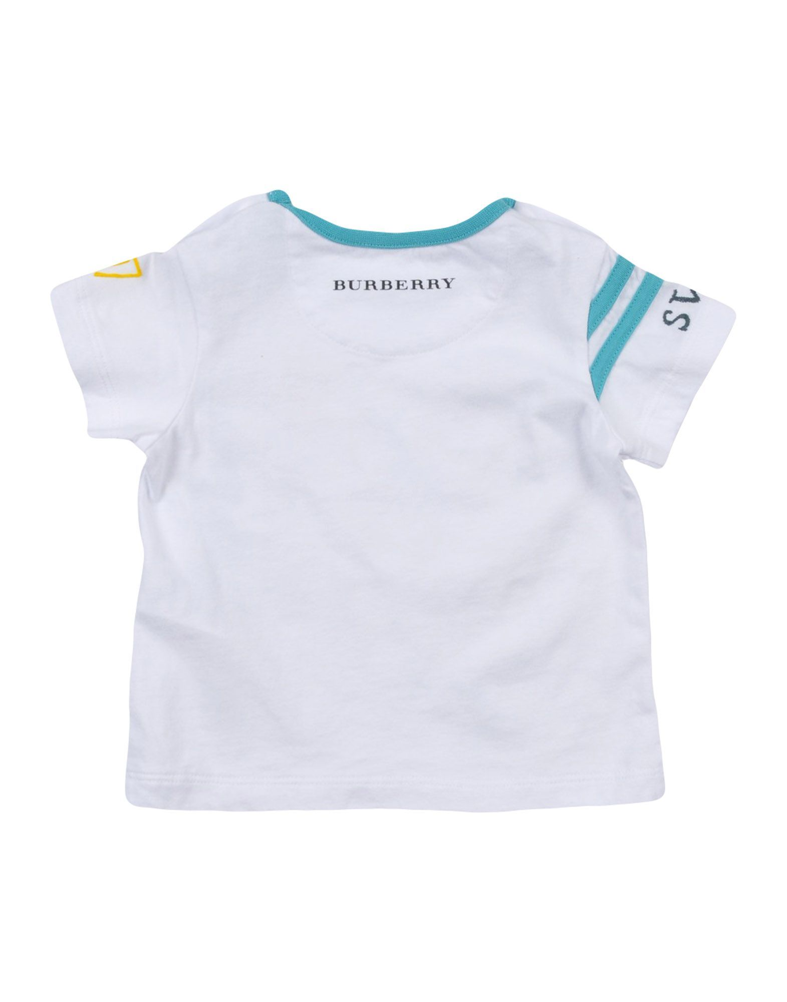 TOPWEAR Burberry White Boy Cotton