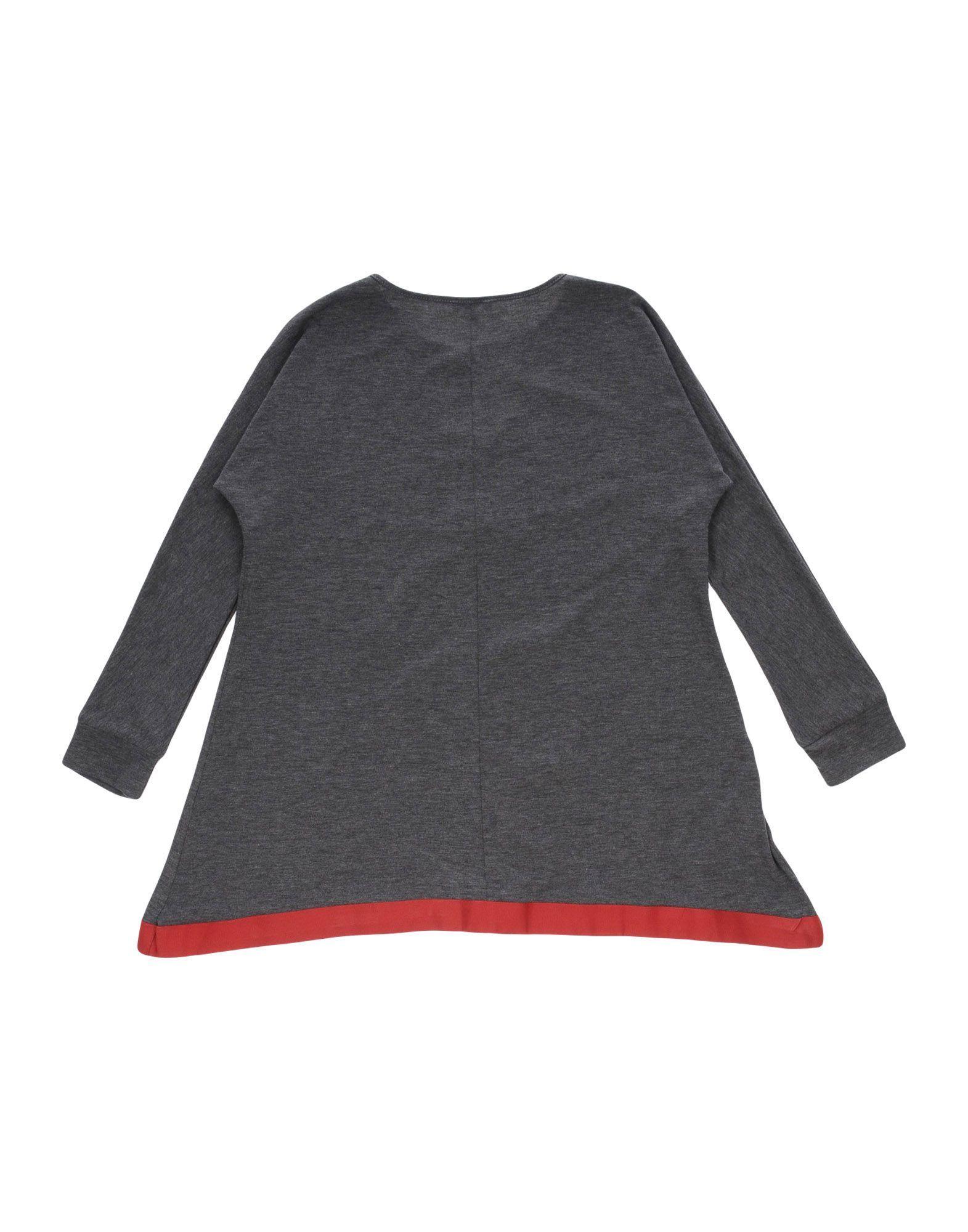 TOPWEAR Fracomina Mini Grey Girl Cotton