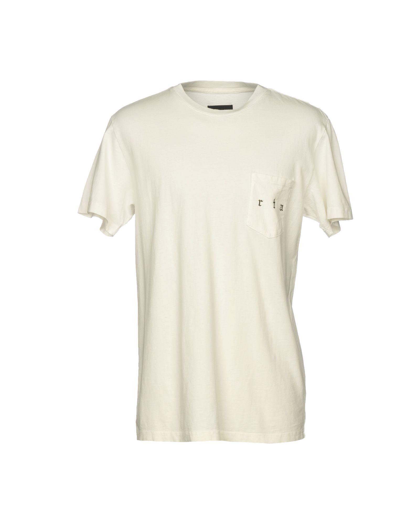TOPWEAR Man Rta White Cotton