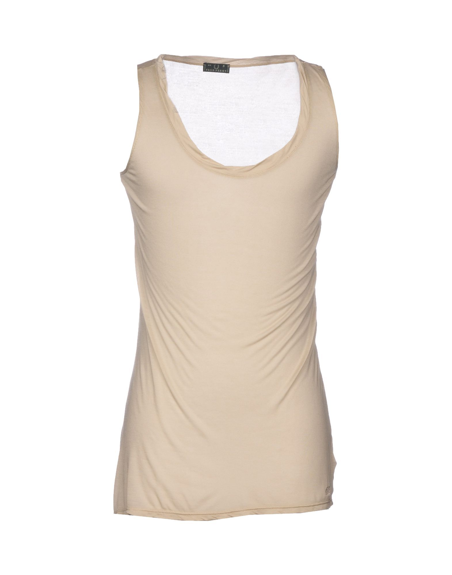 Fred Perry Beige Modal Vest
