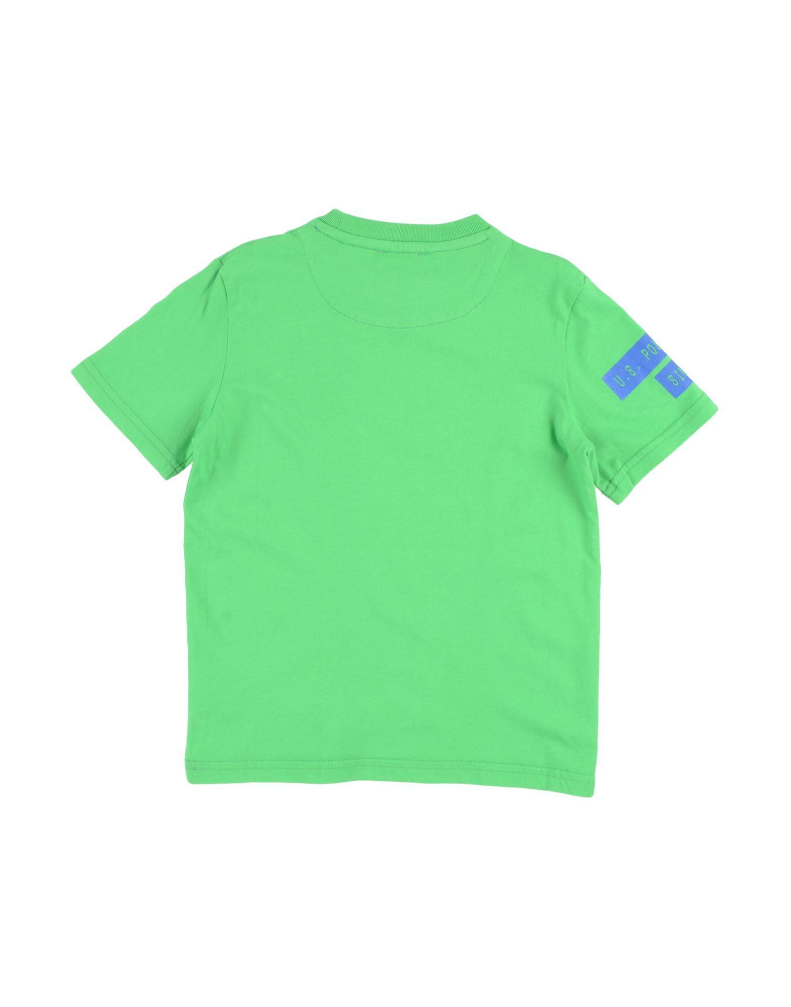 TOPWEAR Boy U.S.Polo Assn. Light green Cotton