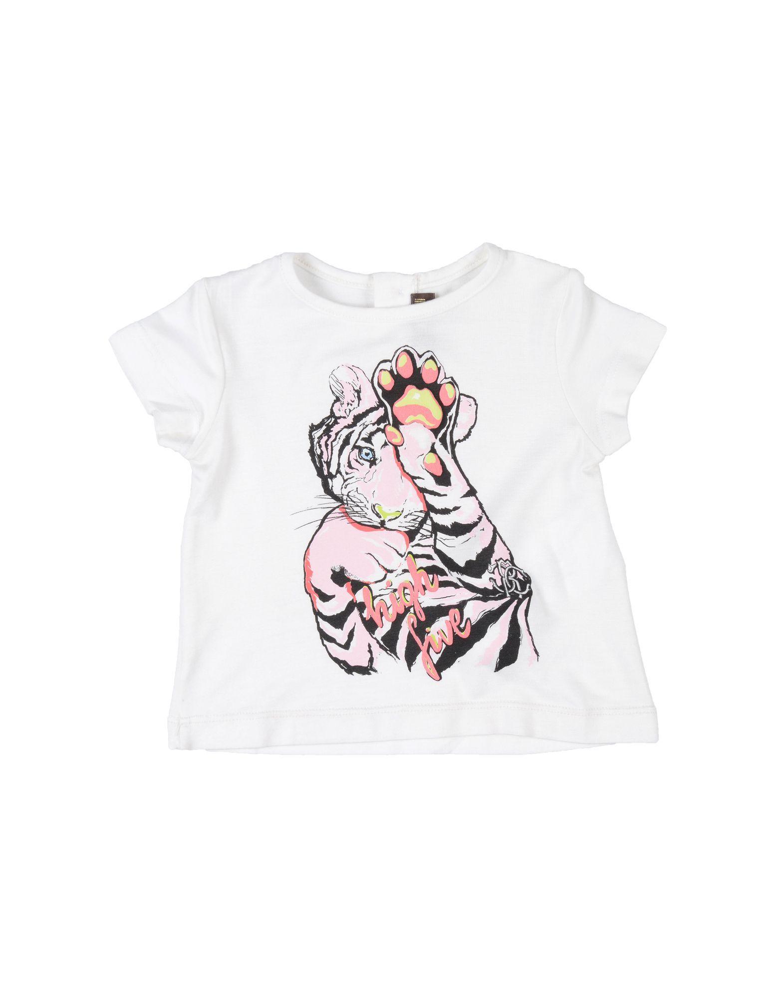 Roberto Cavalli Junior Ivory T-shirt