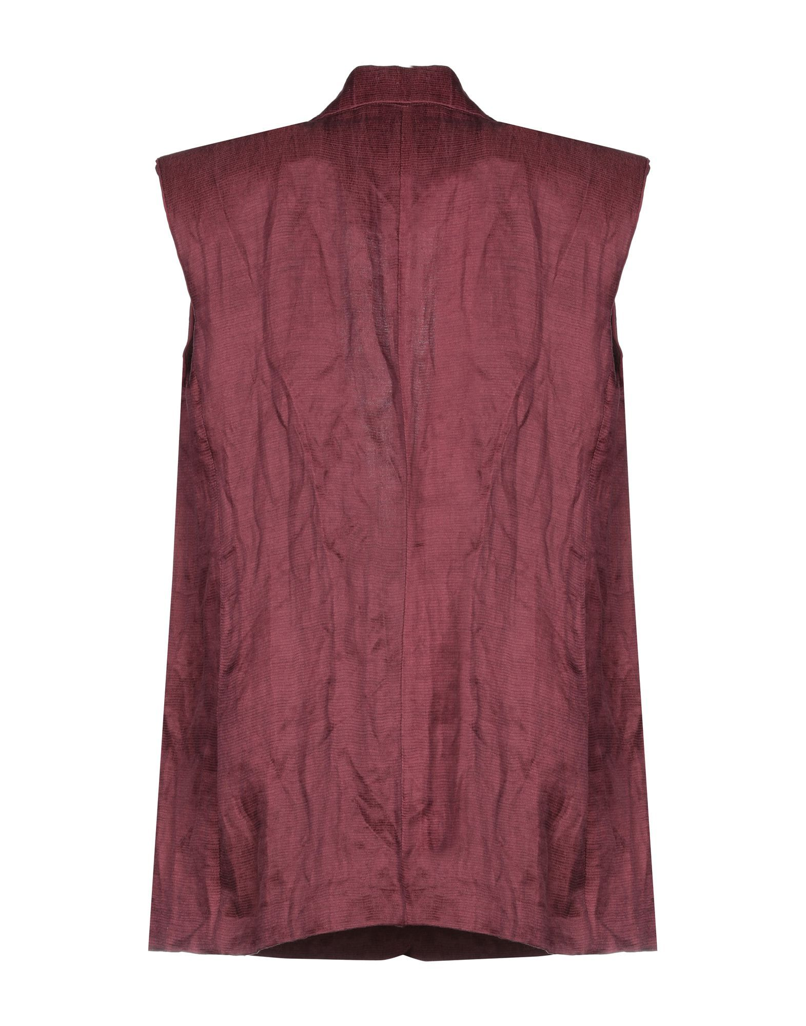 SUITS AND JACKETS Wtr Maroon Woman Linen