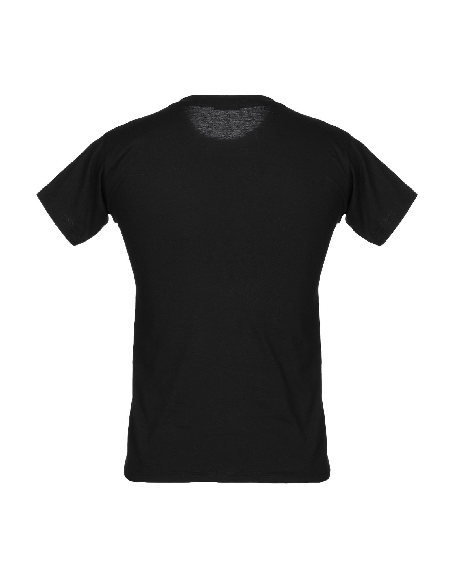 P.A.R.O.S.H. Black Print Cotton T-Shirt