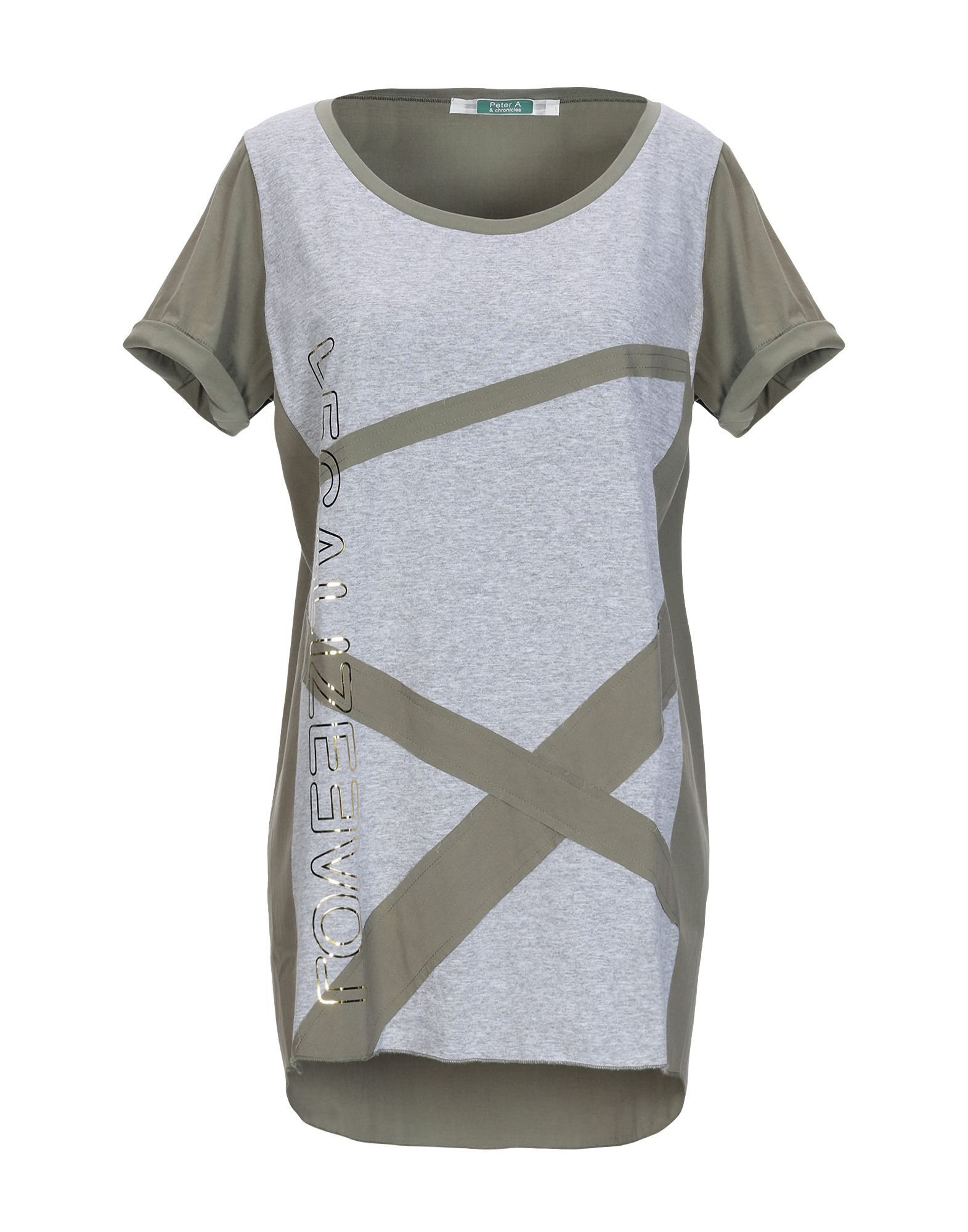 Topwear Peter A & Chronicles Military Green Women's Cotton