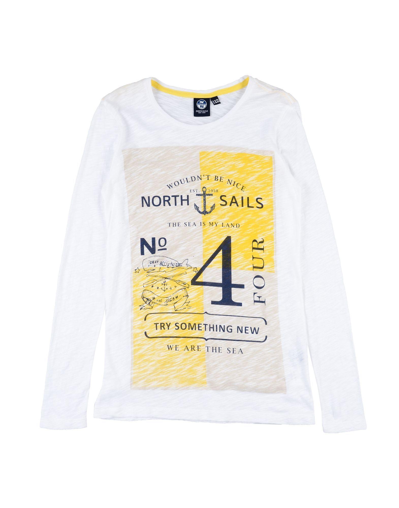 TOPWEAR Girl North Sails Yellow Cotton