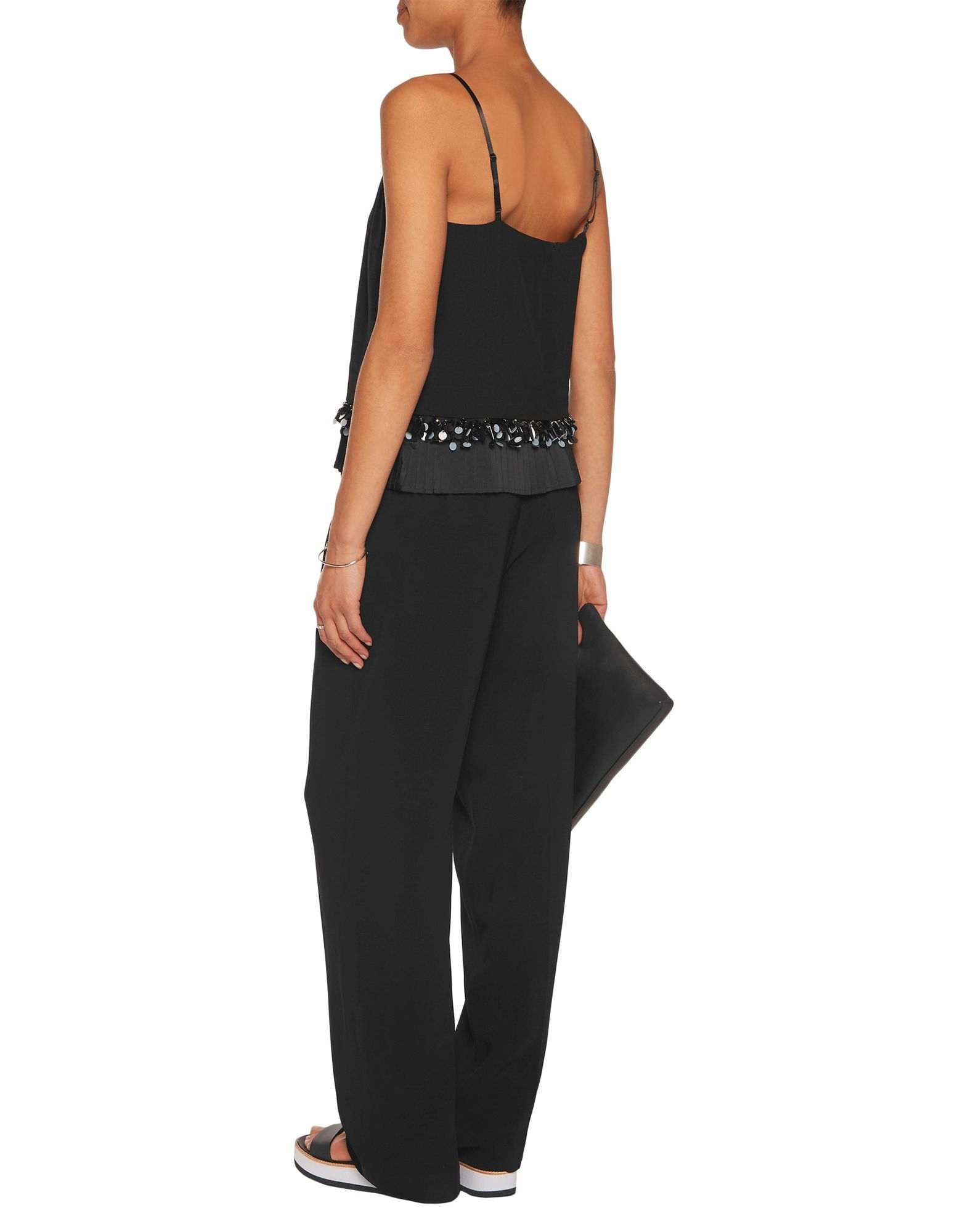 Mother Of Pearl Black Camisole