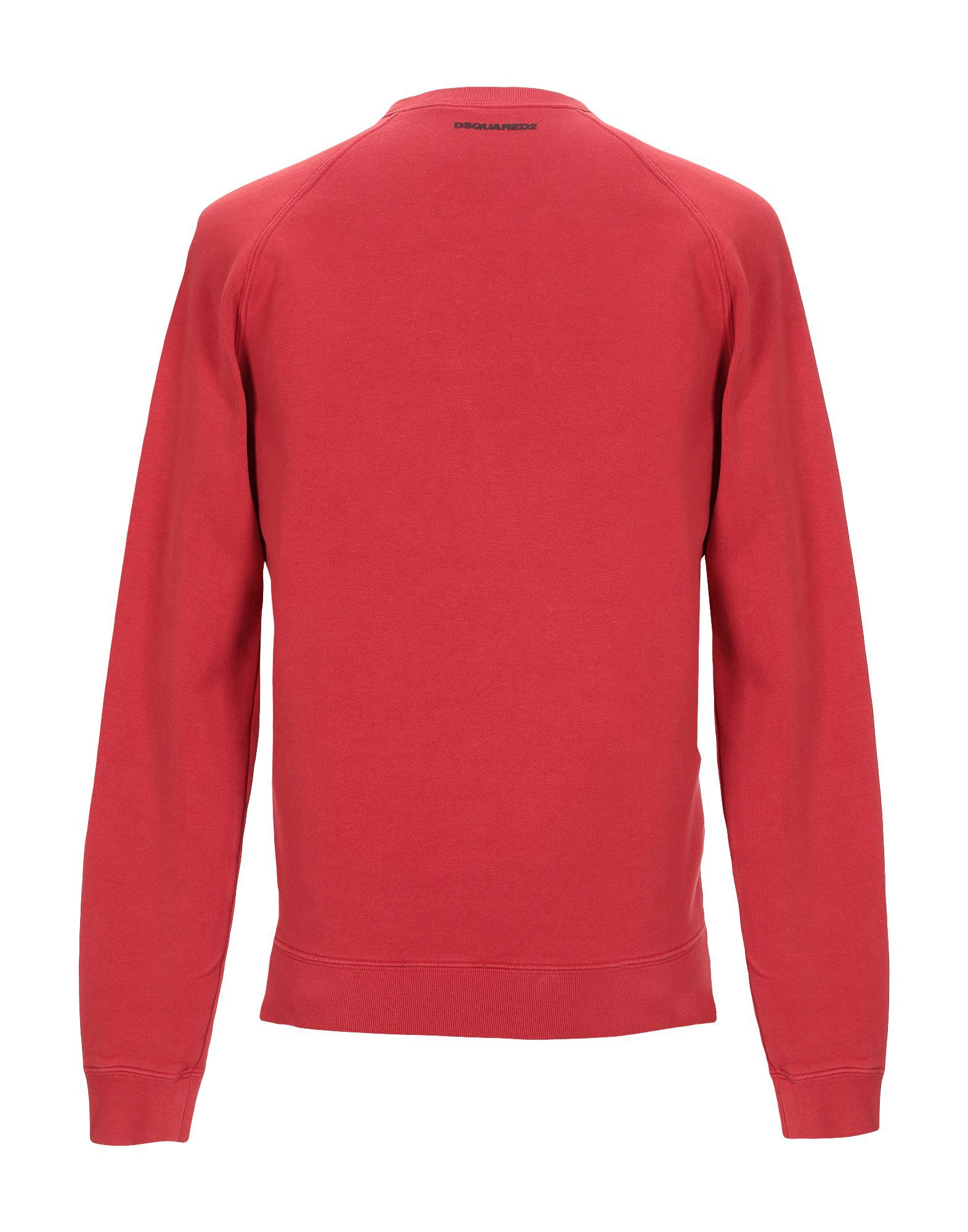 Dsquared2 Red Cotton Sweatshirt