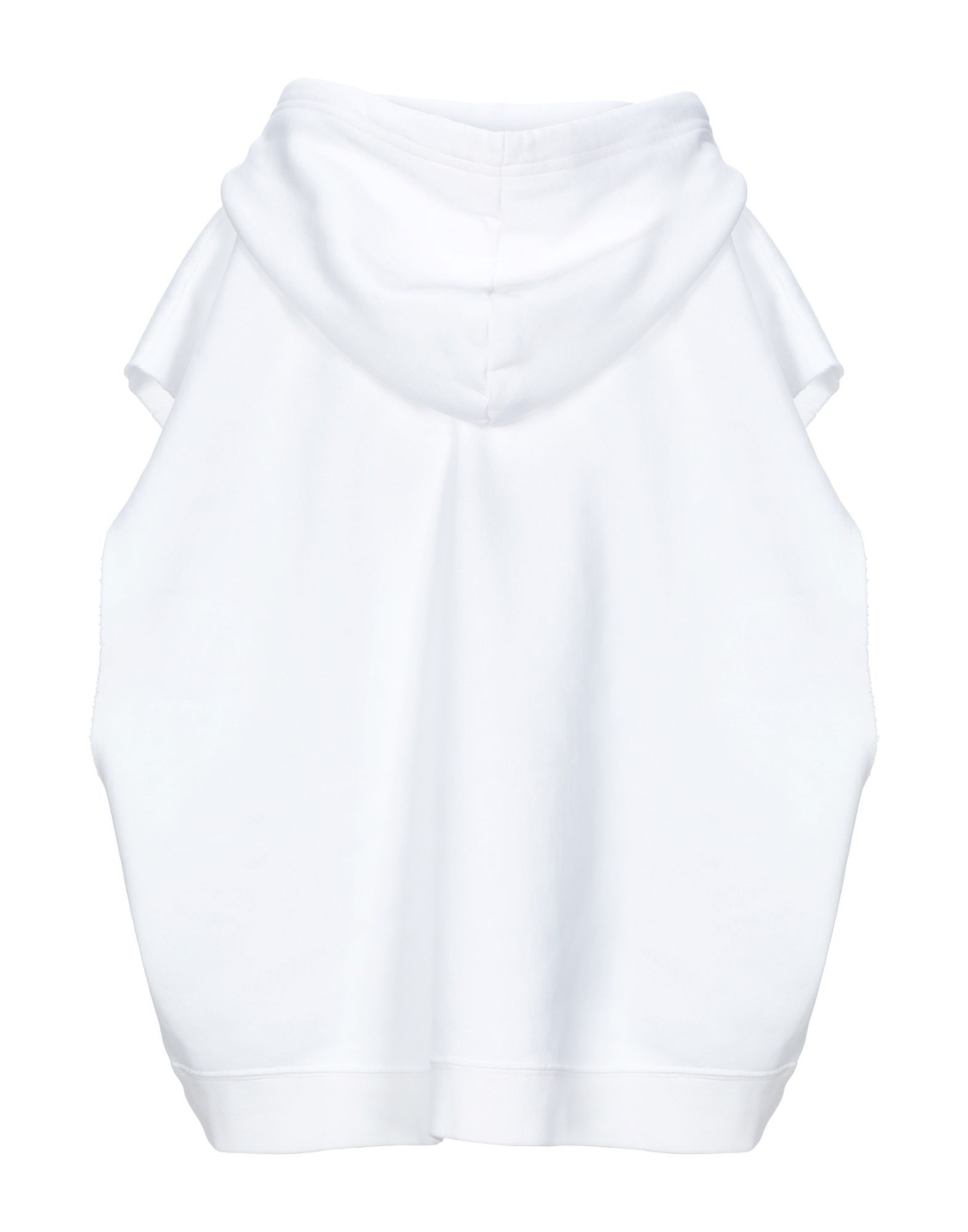 Dsquared2 White Cotton Hoodie
