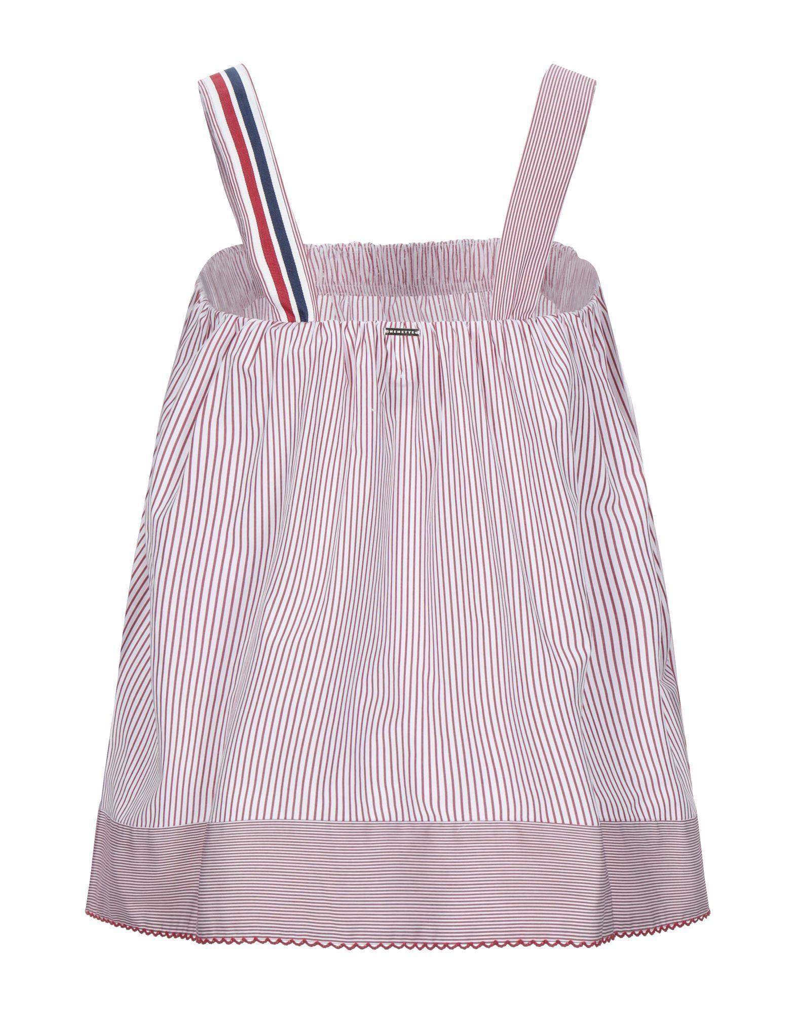 Nenette Red Stripe Cotton Camisole