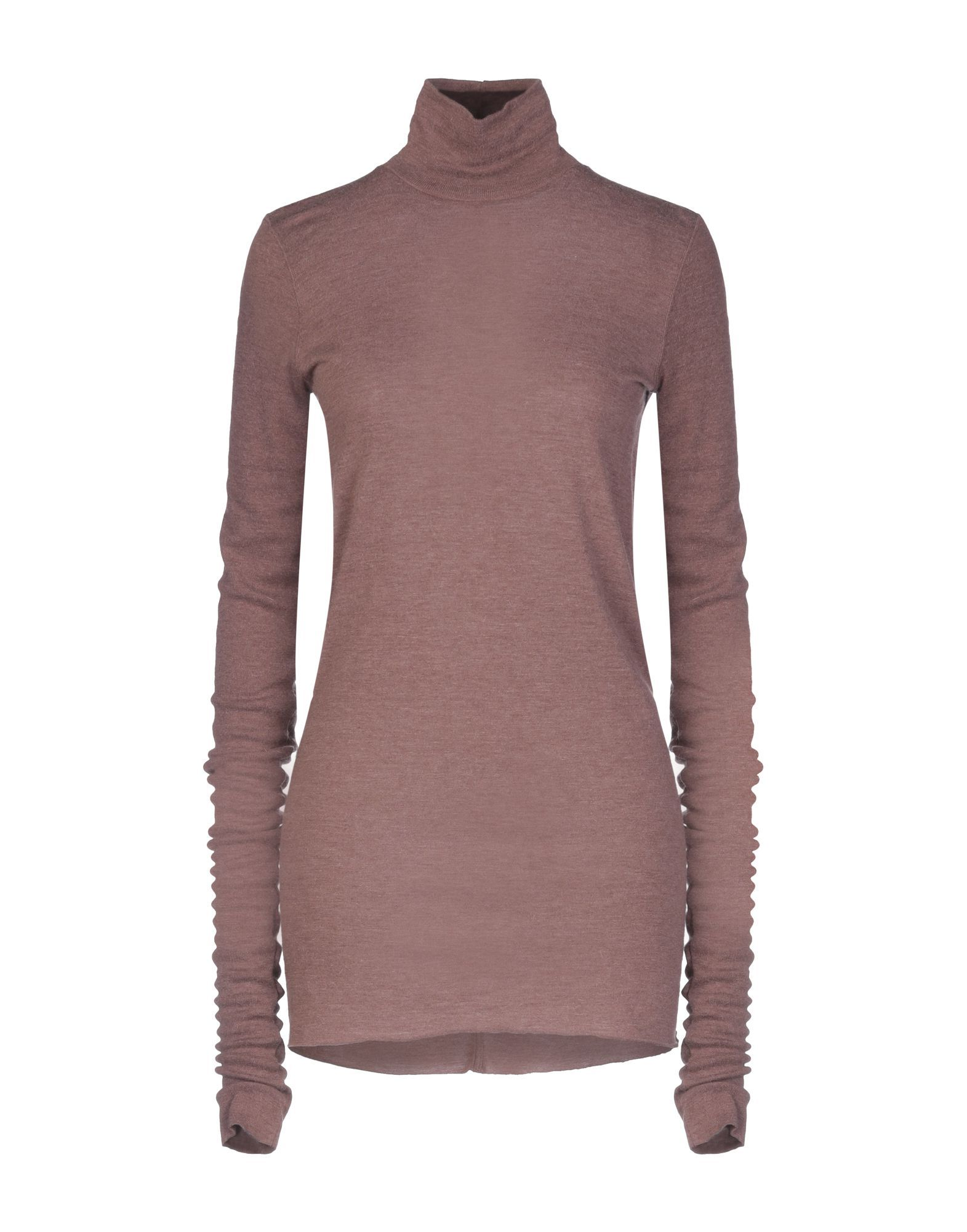 Rick Owens Lilies Cocoa Long Sleeve Knit