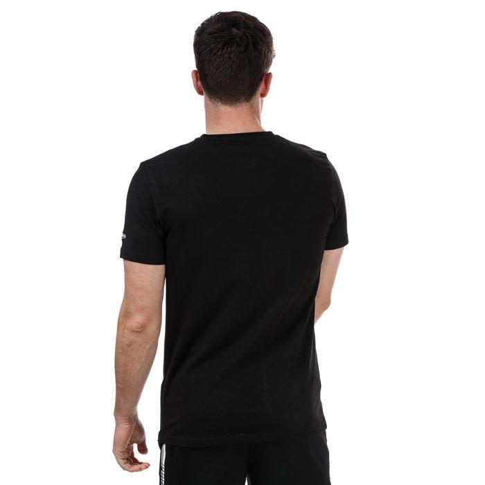 Men's New Era Basketball BC  T-Shirt in Black