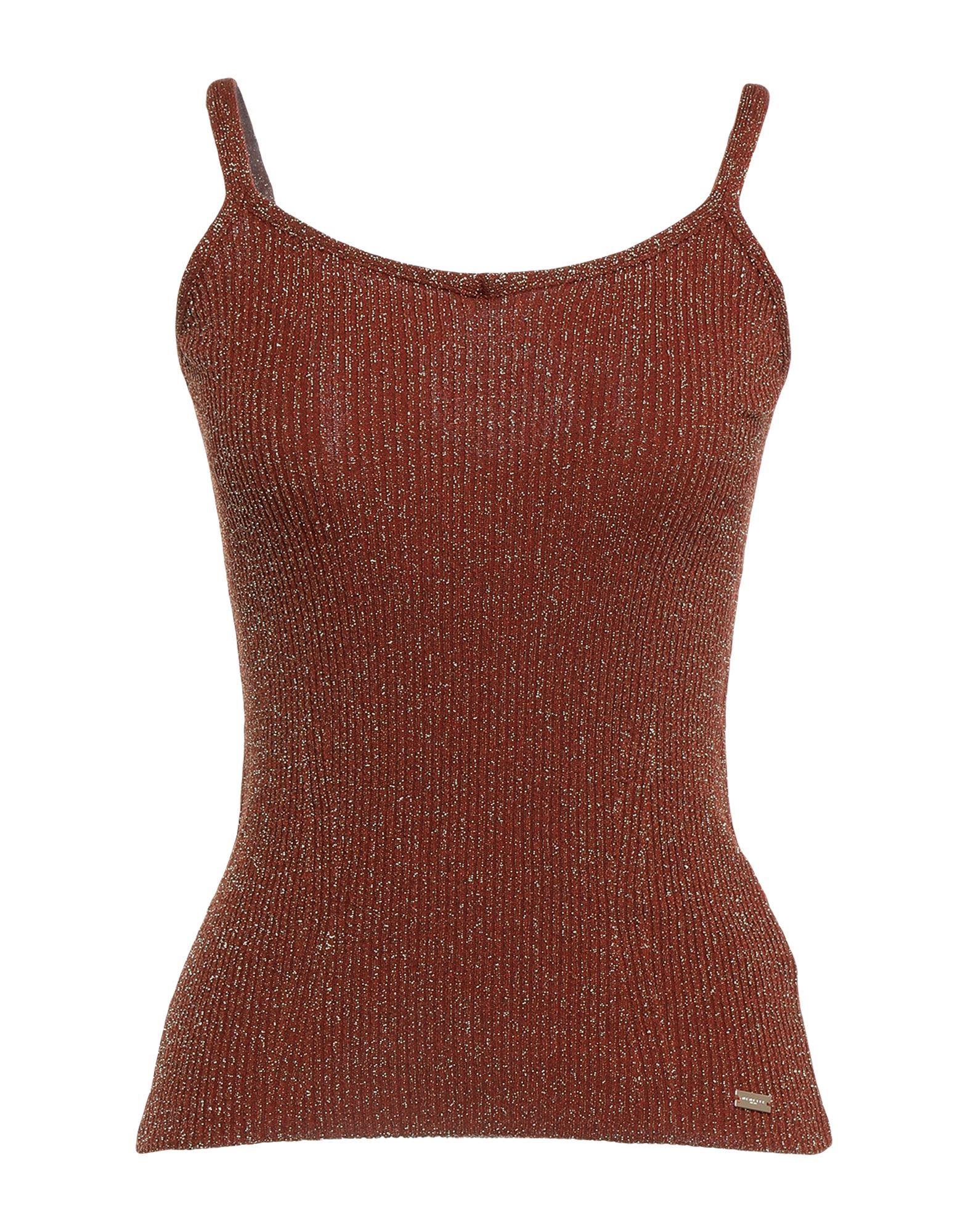 Nenette Brown Stretch Camisole