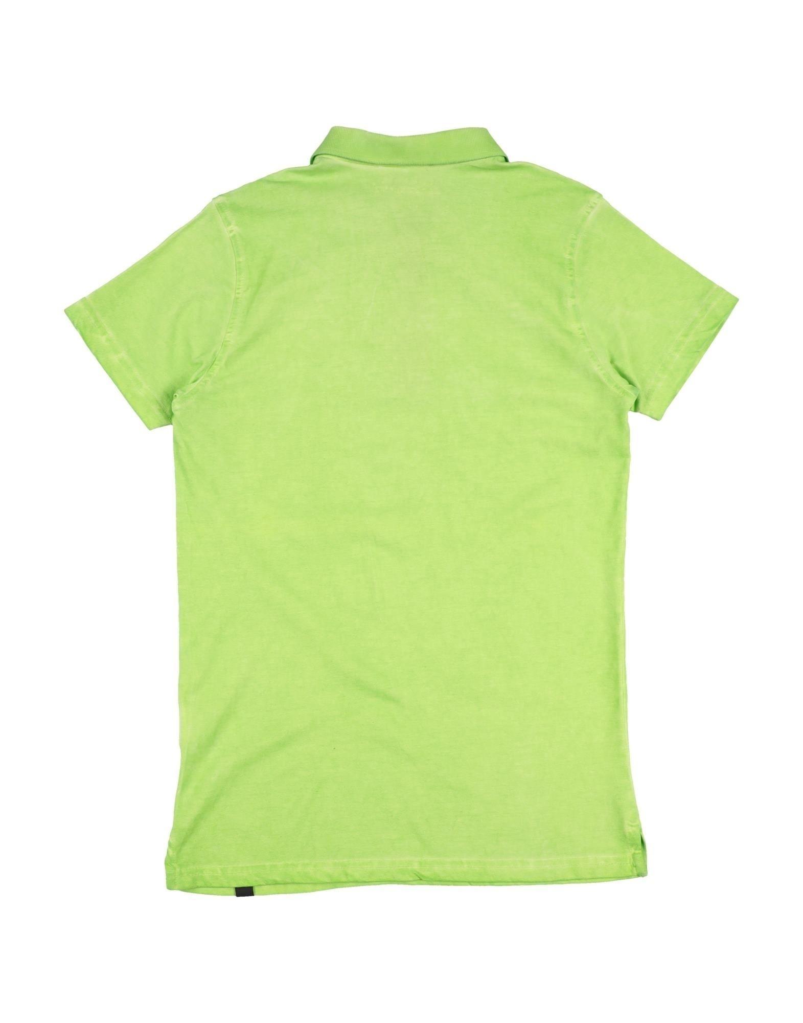 TOPWEAR Boy Daniele Alessandrini Green Cotton