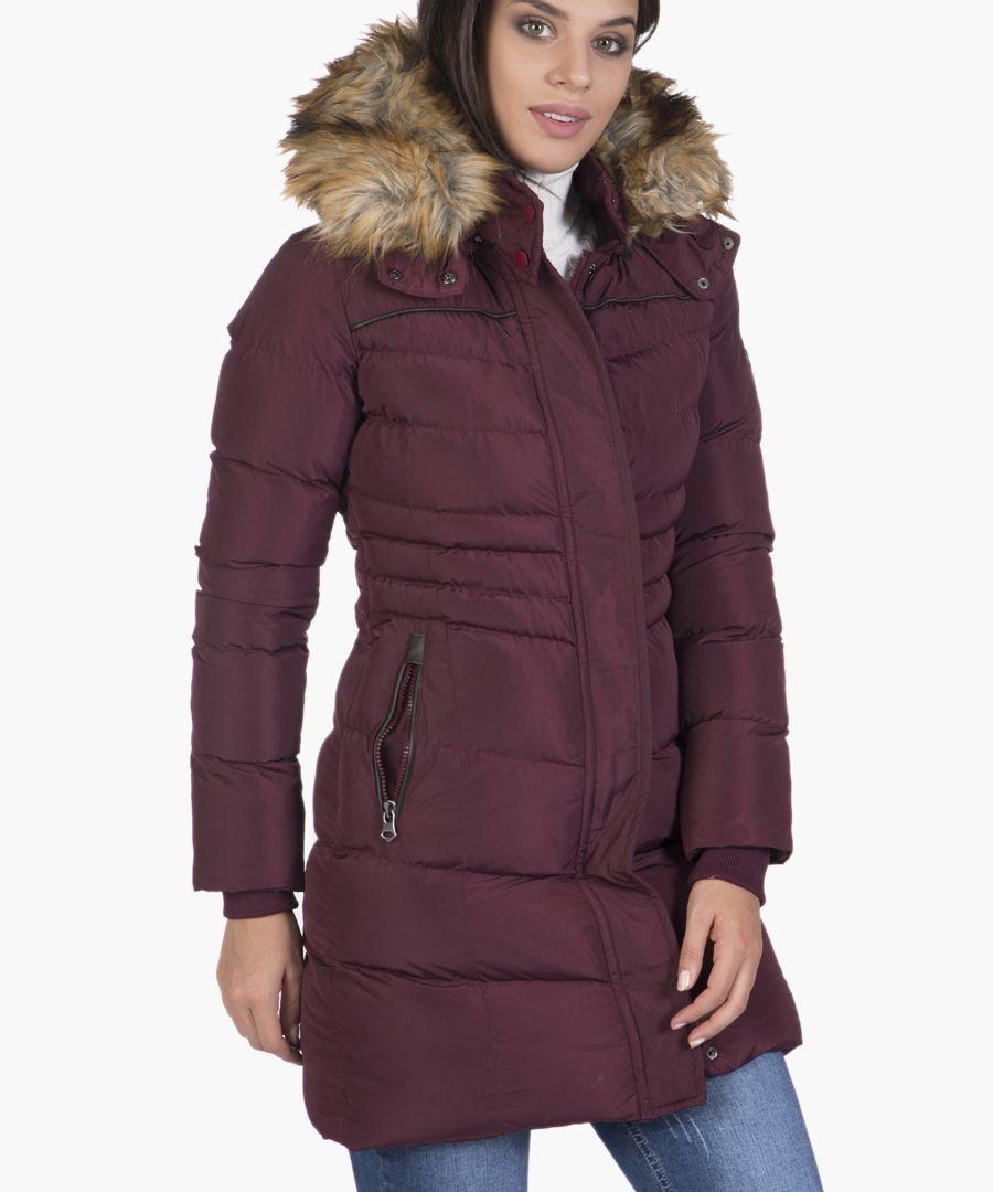 Bordeaux coat