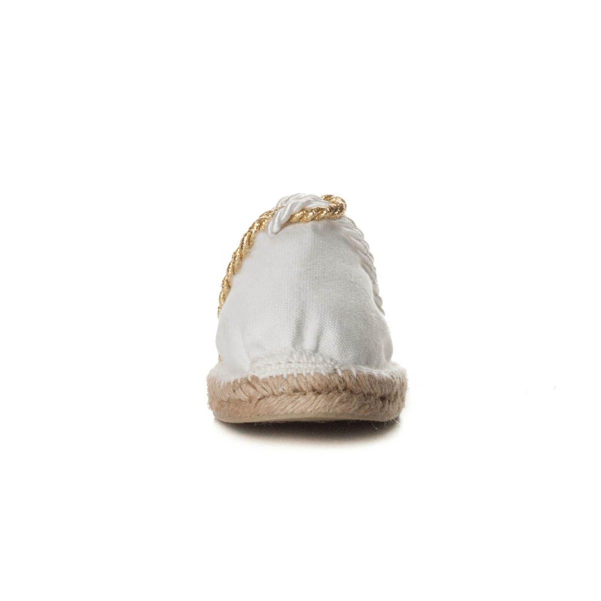 Maria Graor Artisanal Espadrille in White