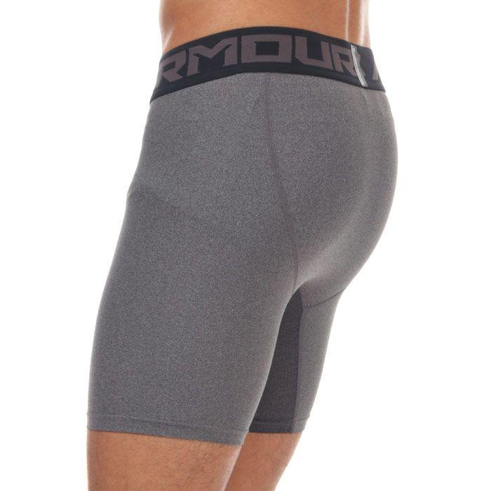 Men's Under Armour HeatGear 2.0 Compression Shorts in Grey