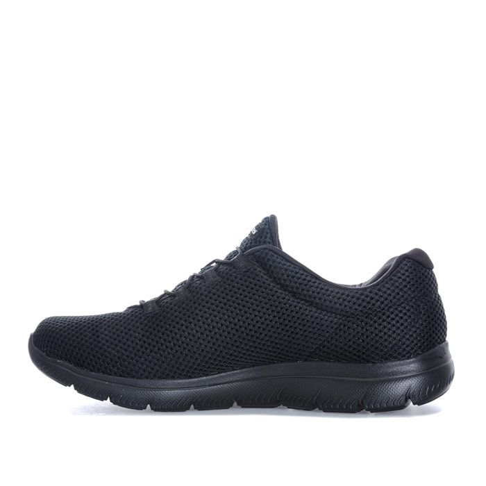Women's Skechers Summits Quick Lapse Trainers in Black