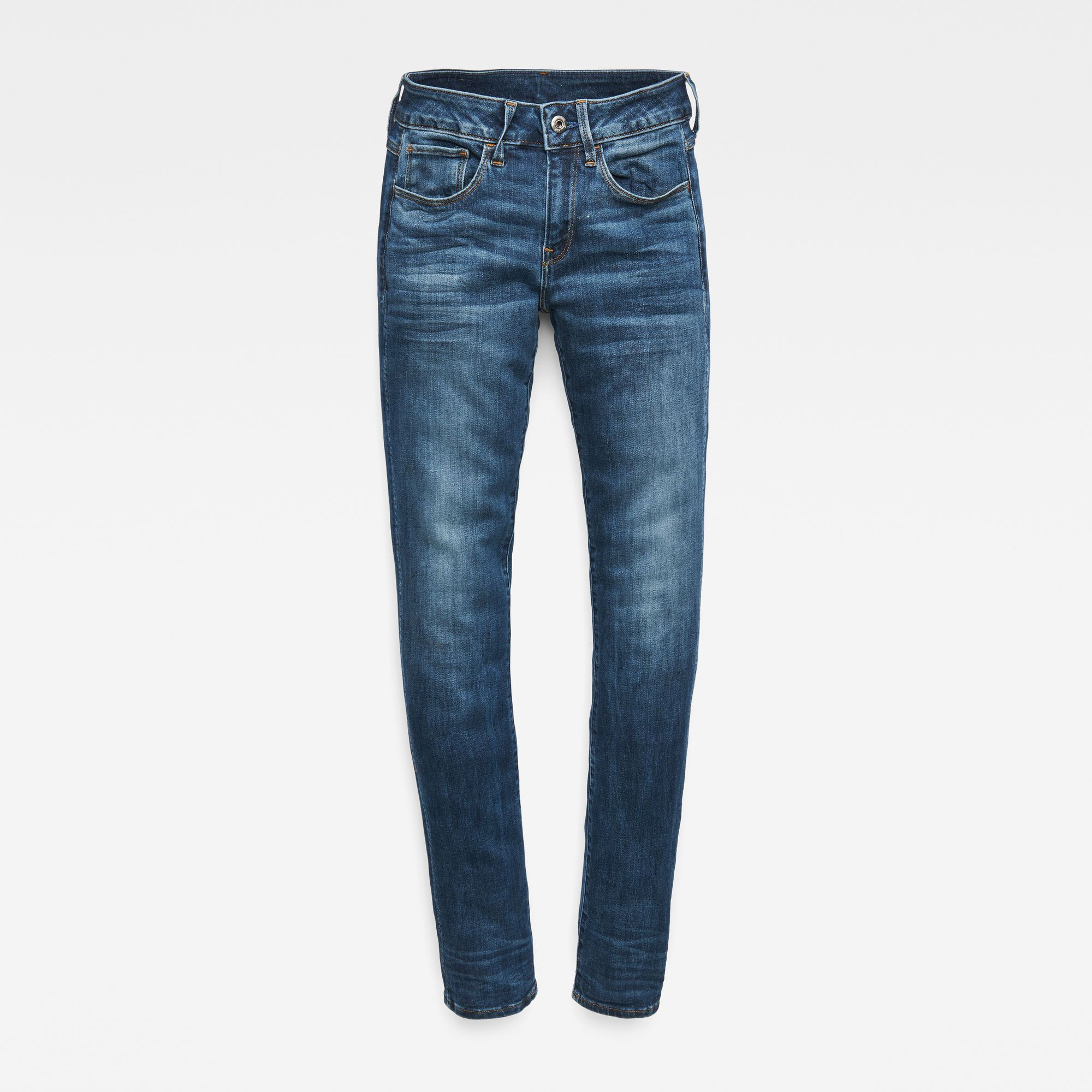 G-Star RAW 3301 Deconstructed Mid Straight Jeans
