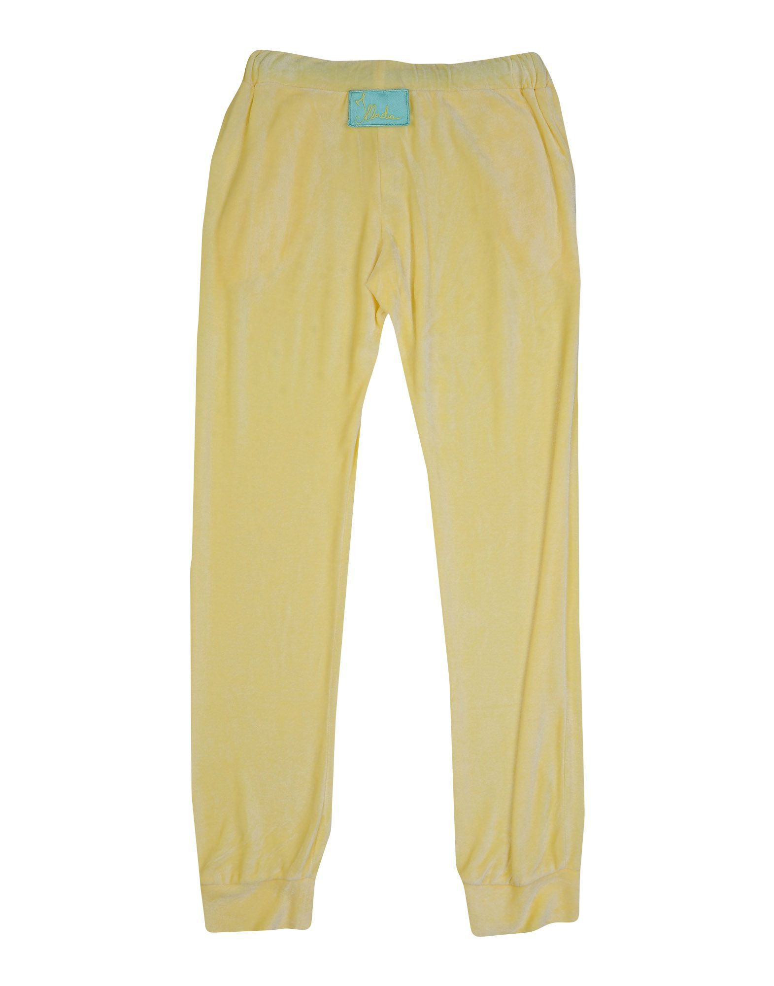 TROUSERS Illudia Yellow Girl Viscose