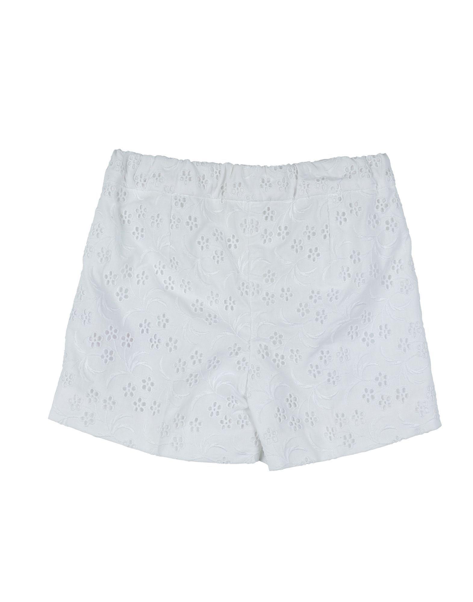 TROUSERS Girl Dolce & Gabbana White Cotton