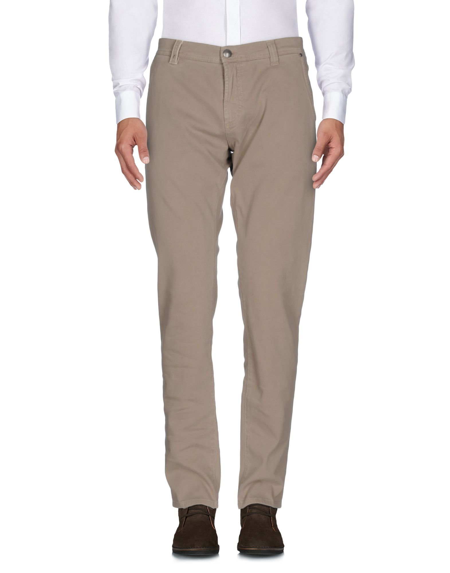 TROUSERS Nicwave Beige Man Cotton