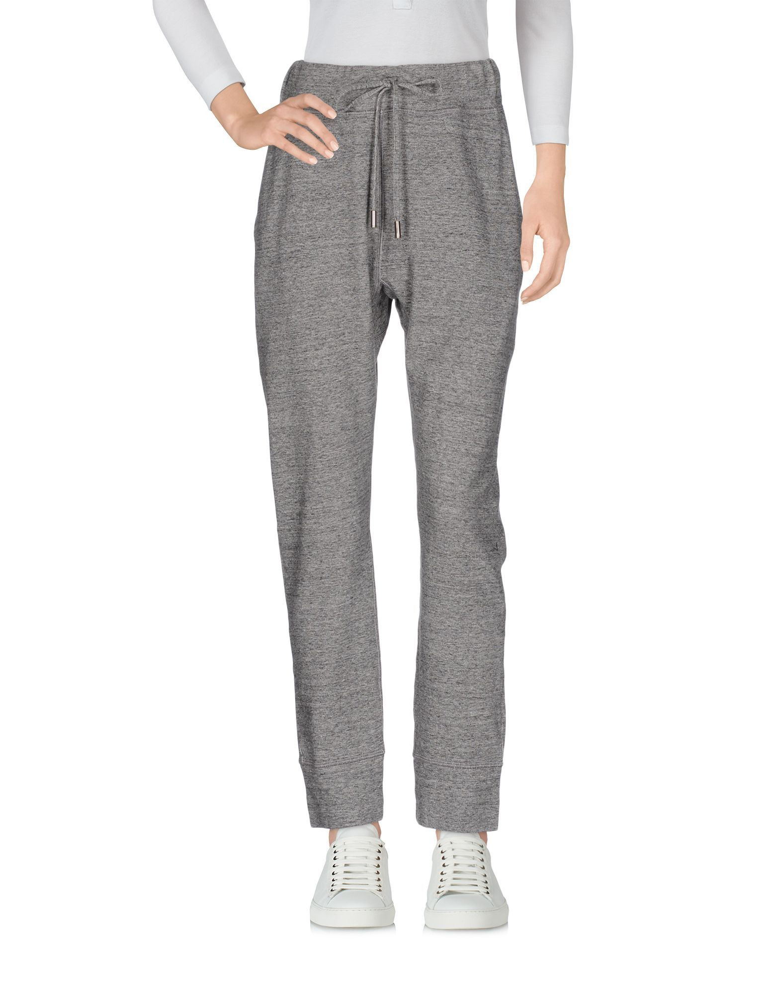 Dsquared2 Grey Cotton Tapered Leg Joggers