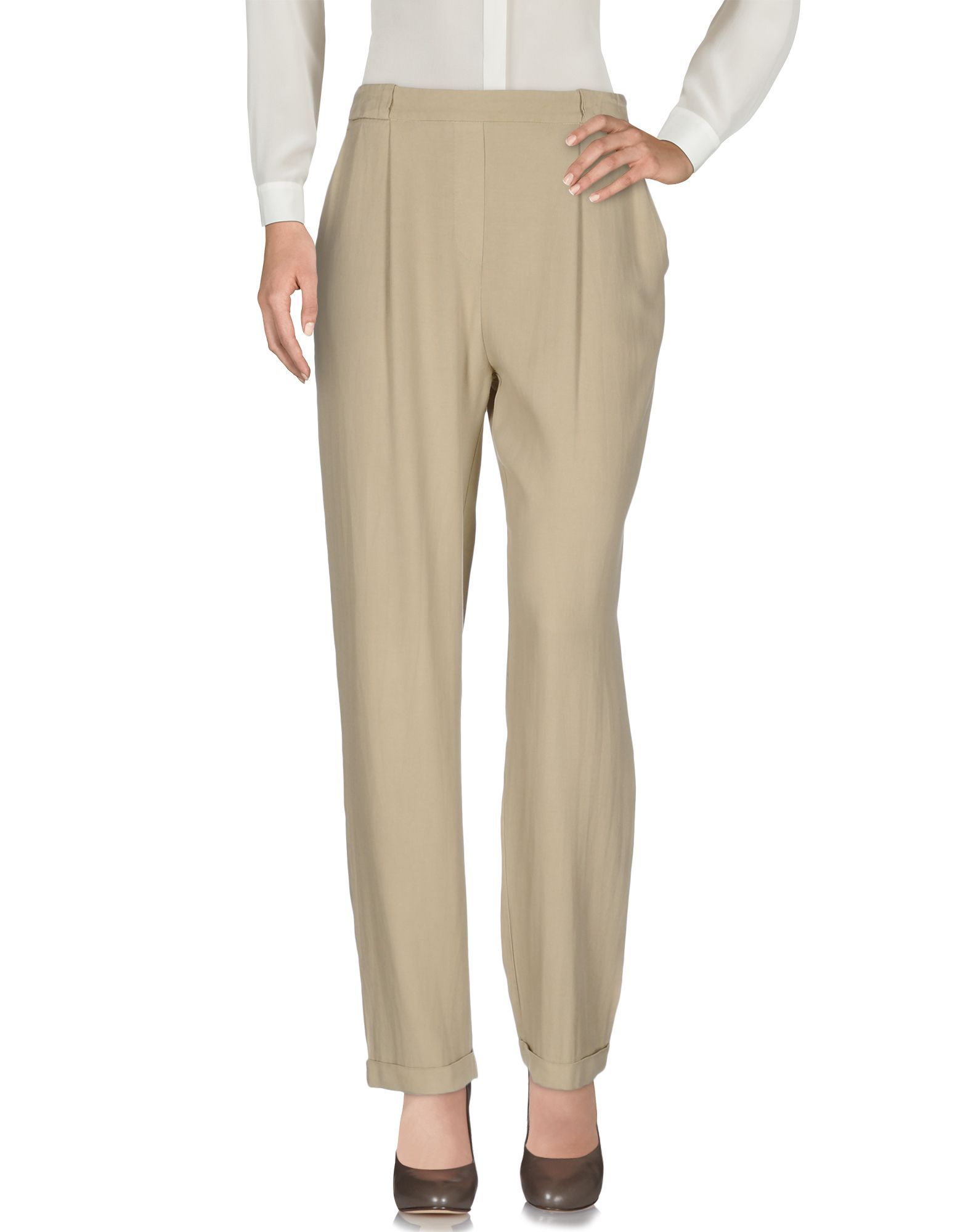 TROUSERS Toy G. Beige Woman Viscose