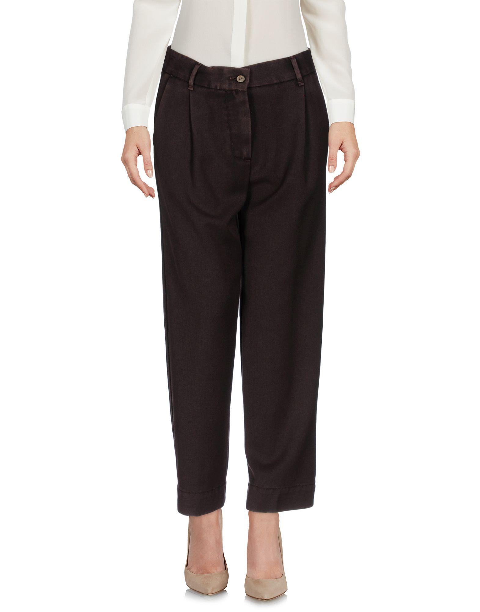 Trousers Myths Dark Brown Women's Virgin Wool