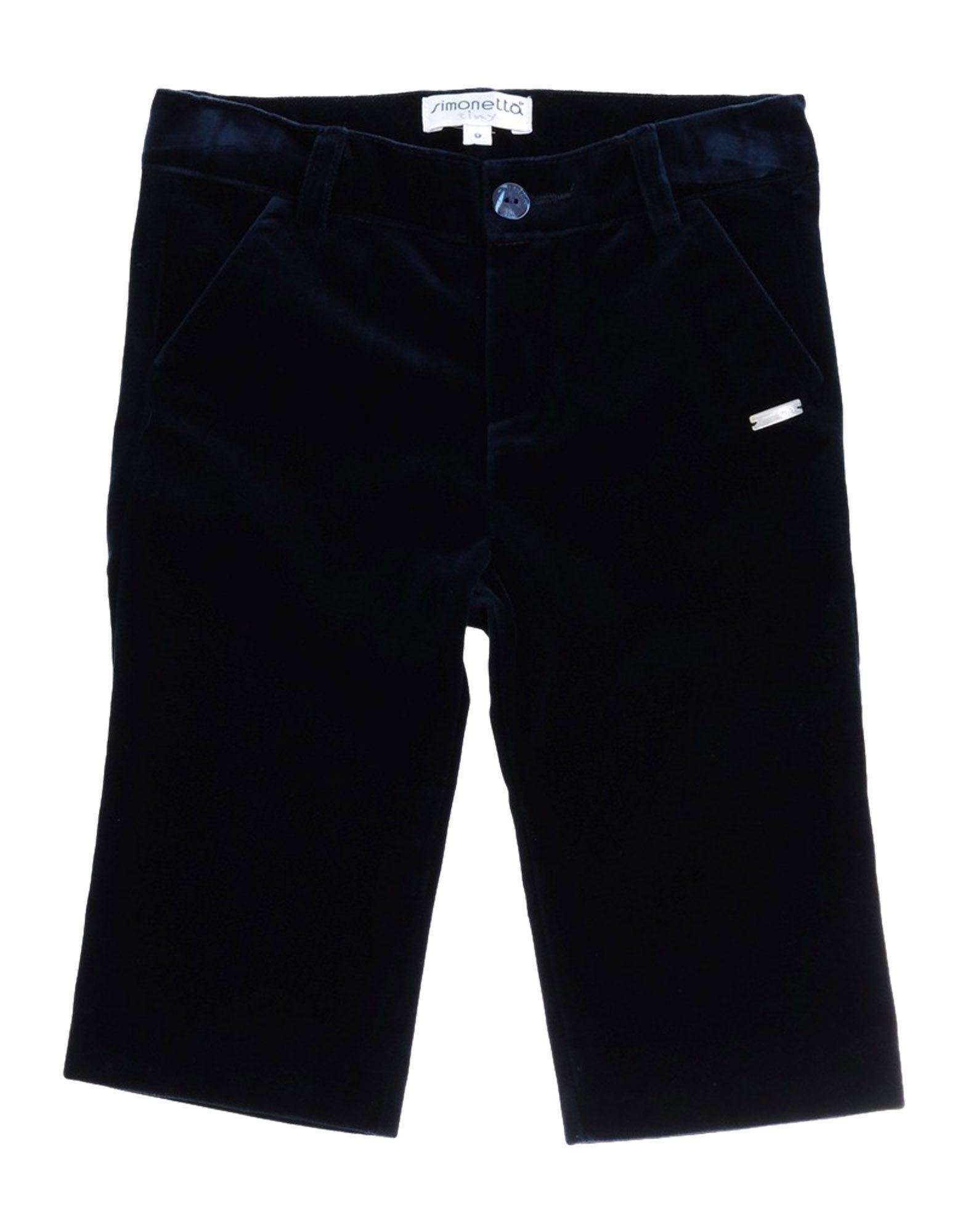TROUSERS Simonetta Tiny Dark blue Boy Cotton
