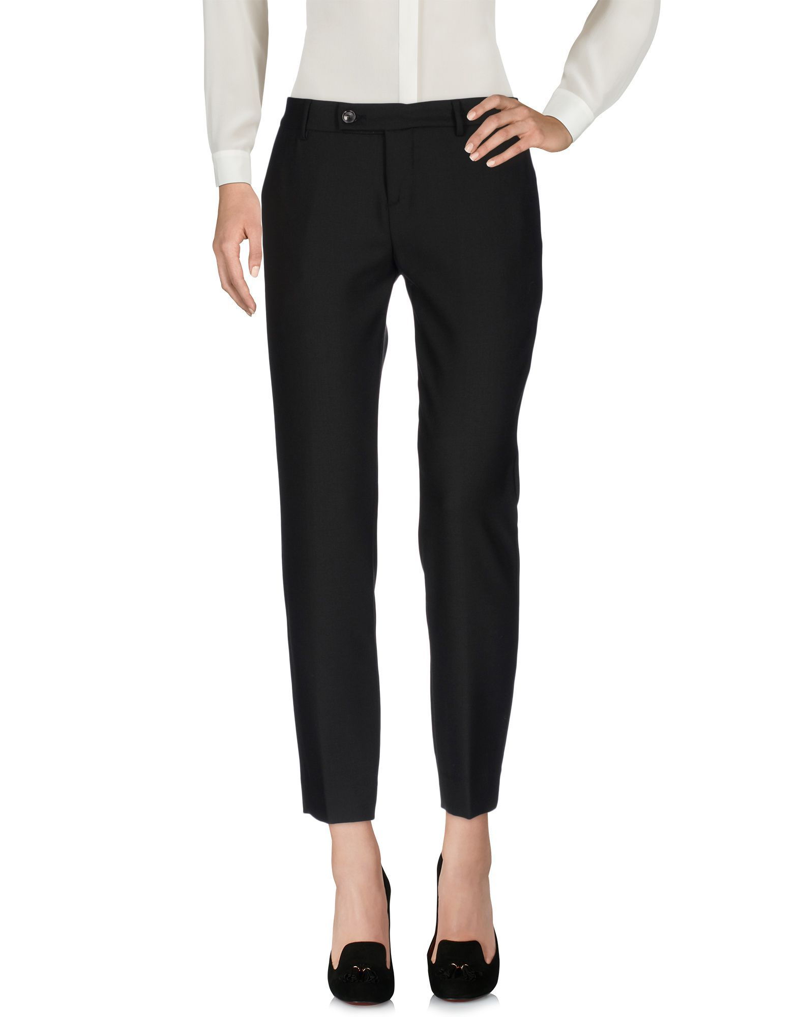 Trousers True Tradition Black Women's Polyester