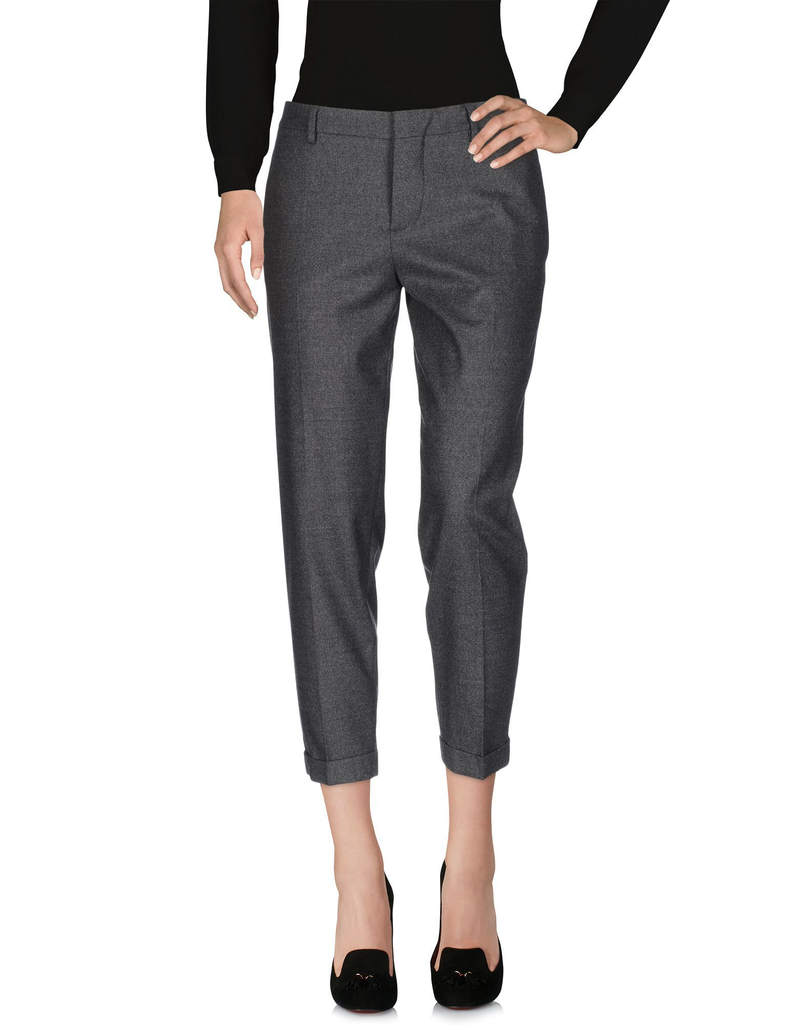 Dsquared2 Lead Virgin Wool Tailored Trousers