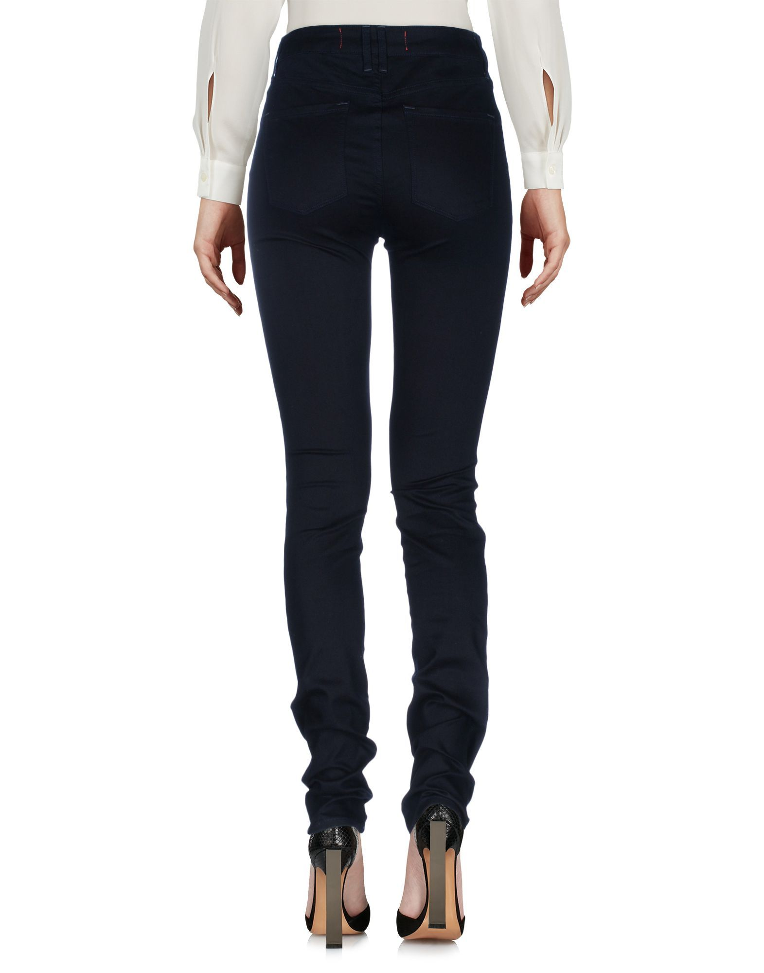 TROUSERS Marc By Marc Jacobs Dark blue Woman Cotton