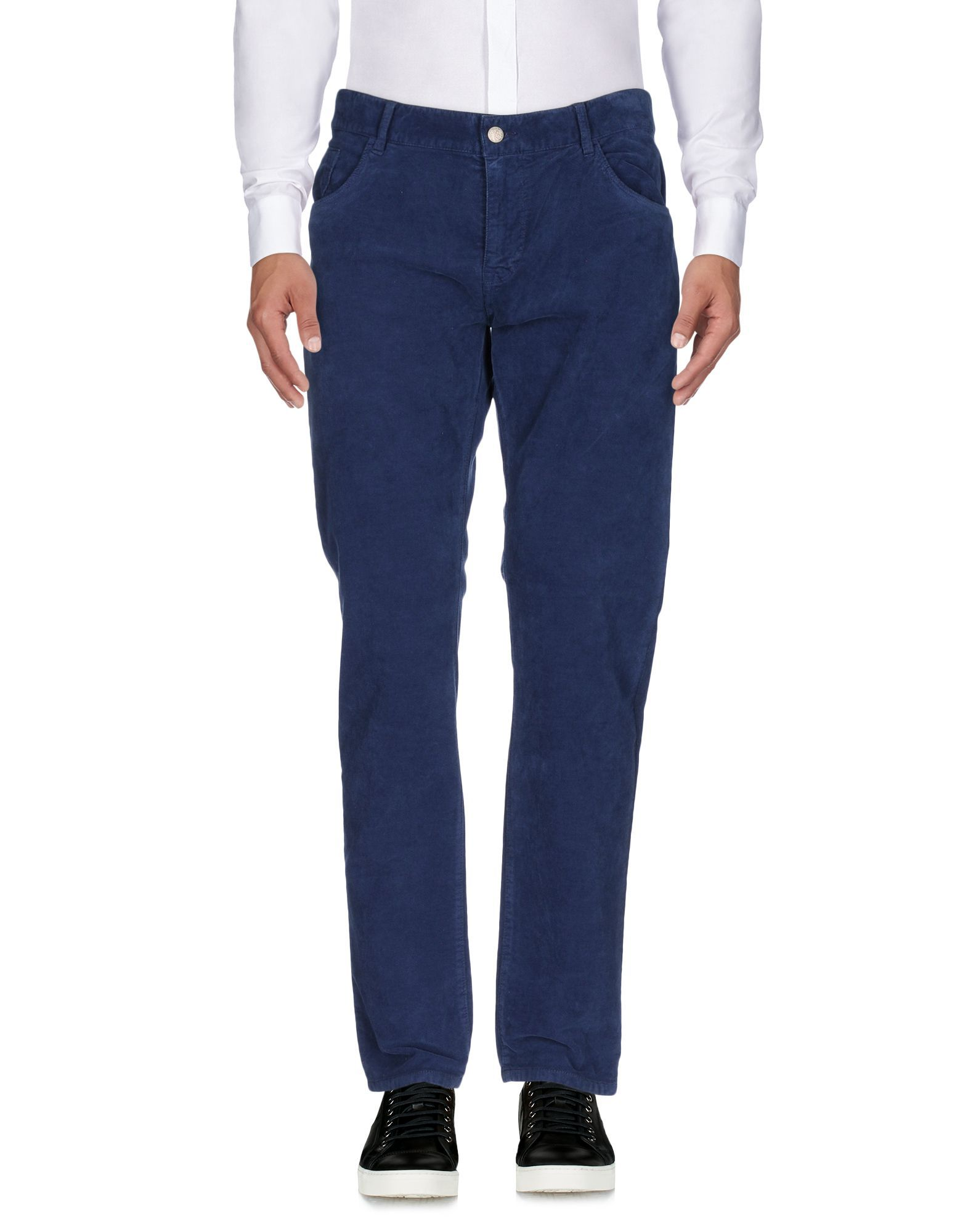 TROUSERS Seventy Sergio Tegon Blue Man Cotton