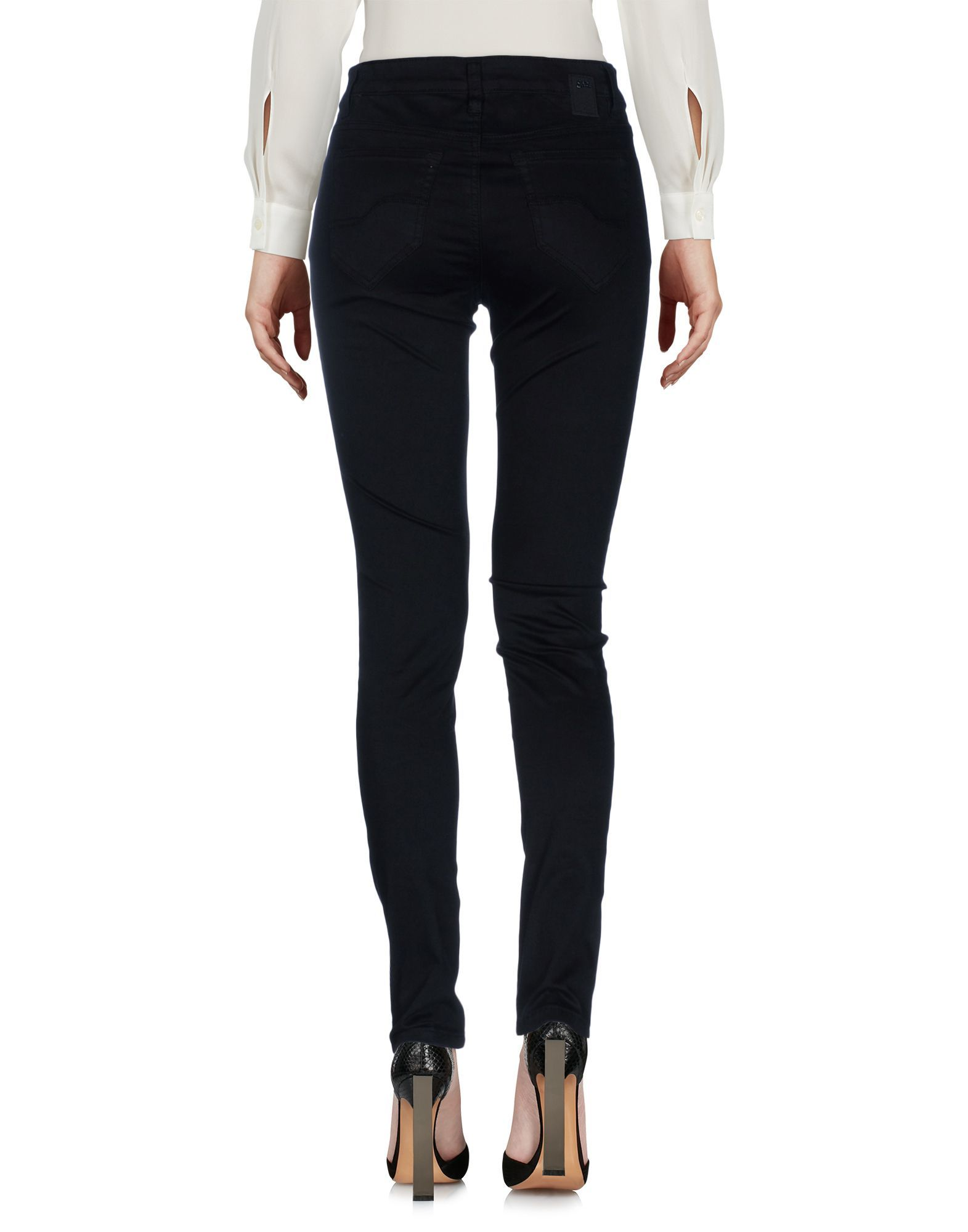 TROUSERS Yes Zee By Essenza Black Woman Cotton