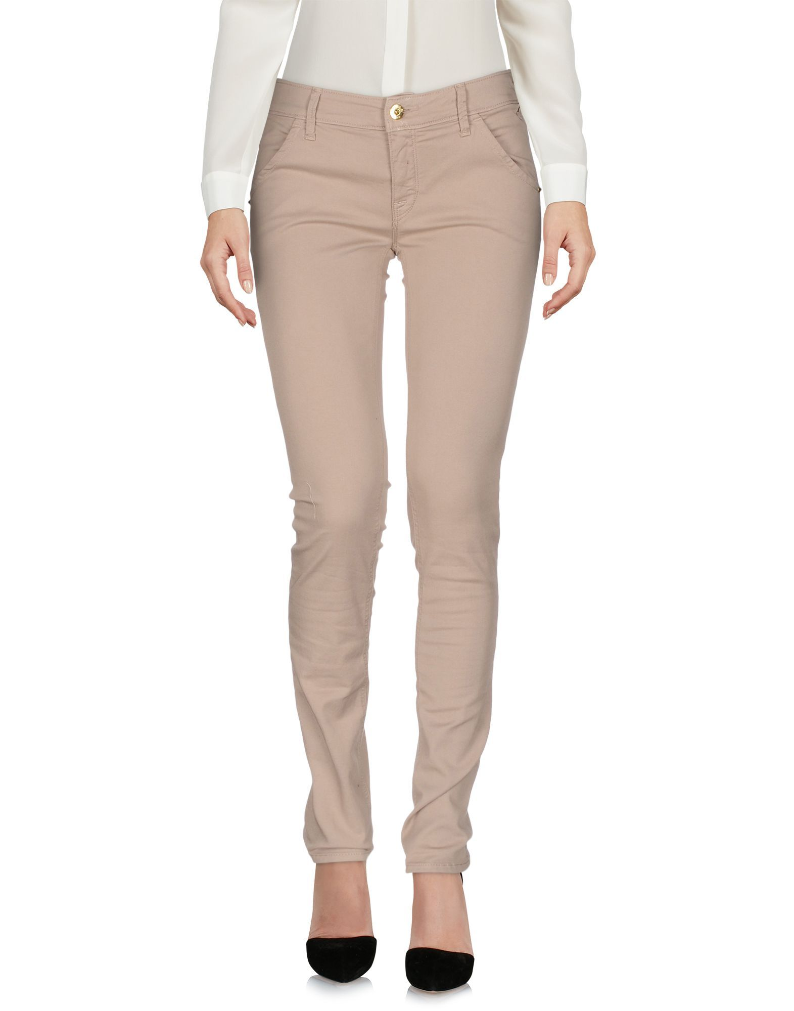 TROUSERS Cycle Dove grey Woman Cotton
