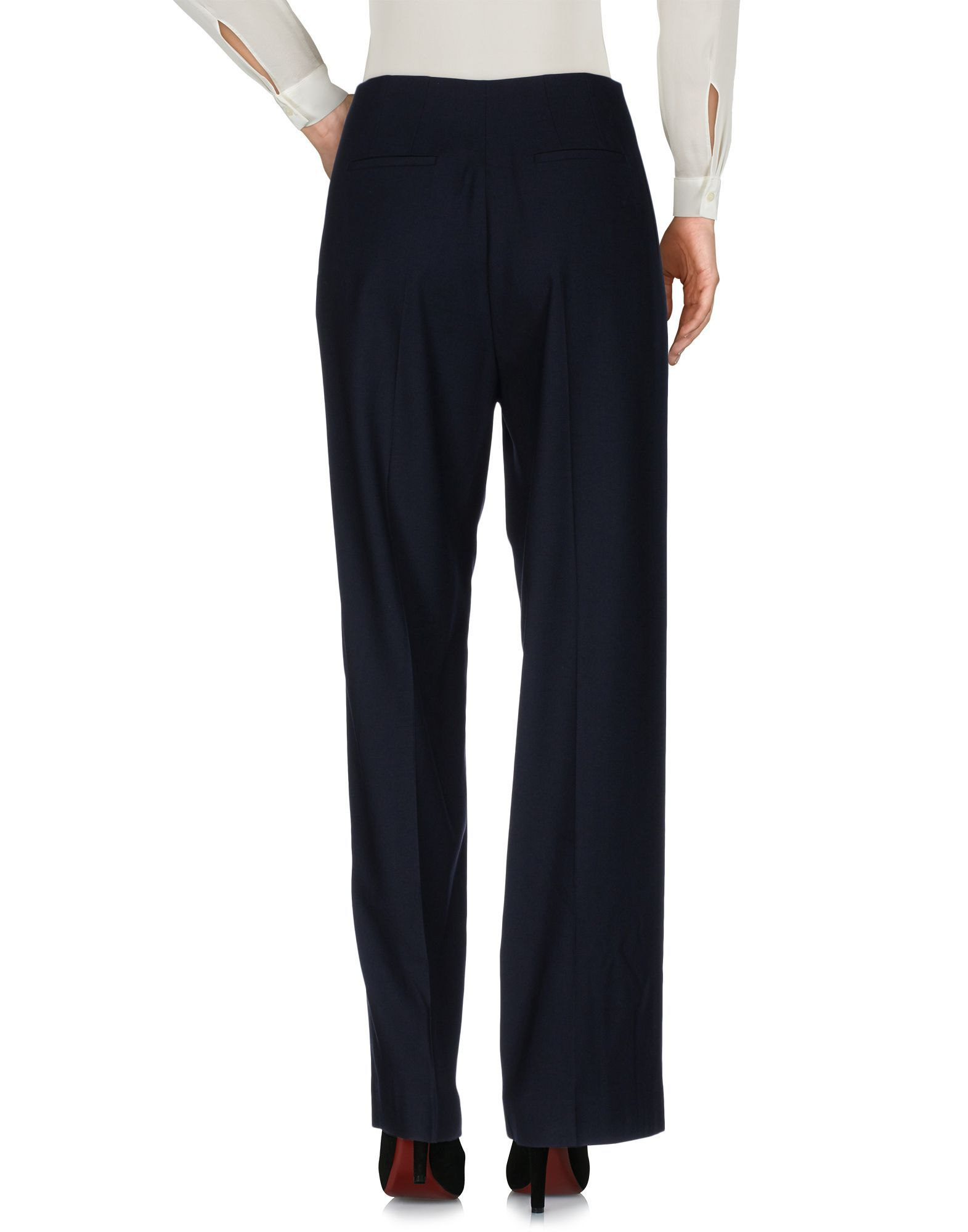 Lanvin Dark Blue High Waisted Trousers