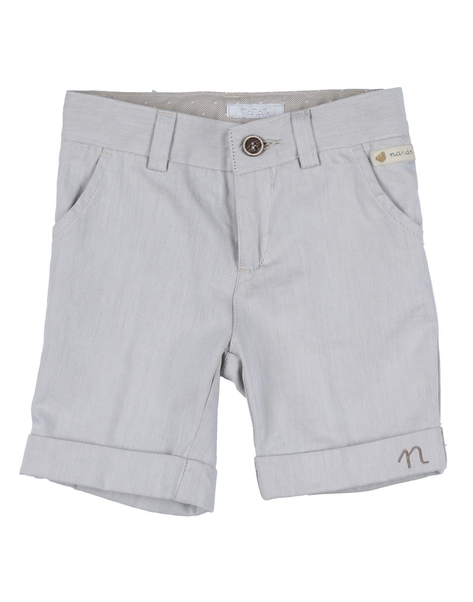 TROUSERS Nan�n Light grey Boy Cotton