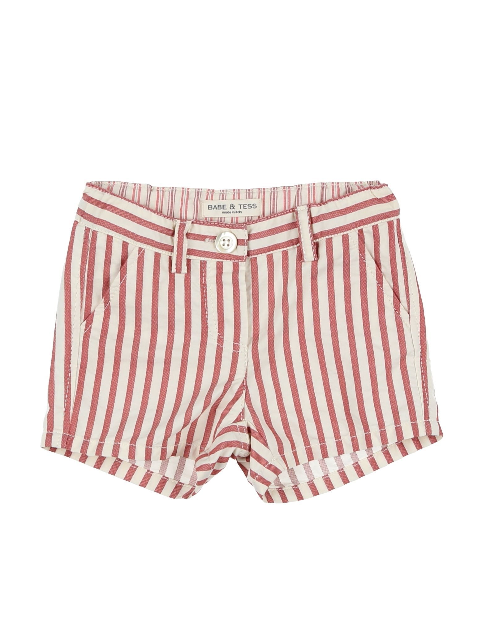 TROUSERS Babe & Tess Brick red Girl Cotton