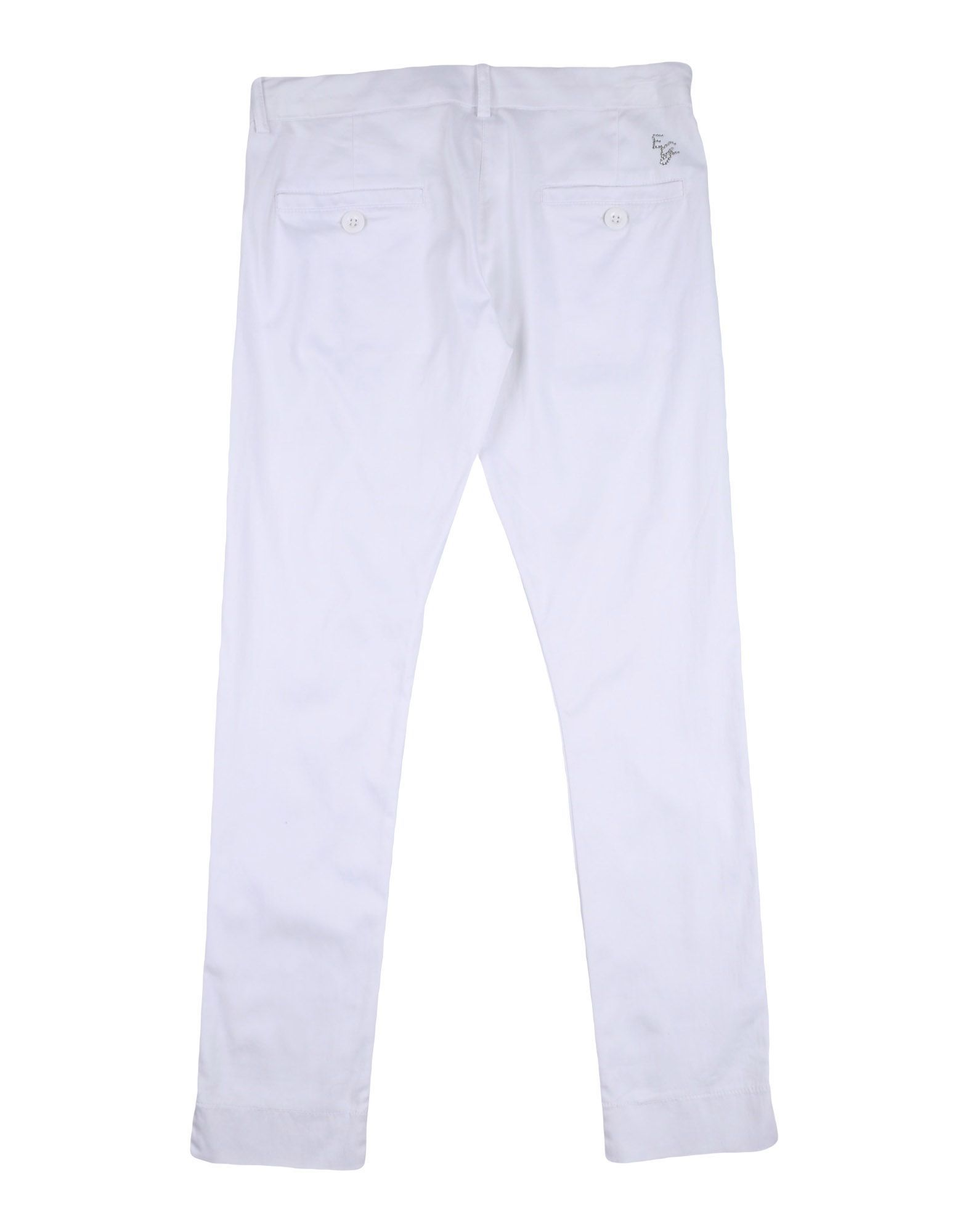 TROUSERS Elsy White Girl Cotton