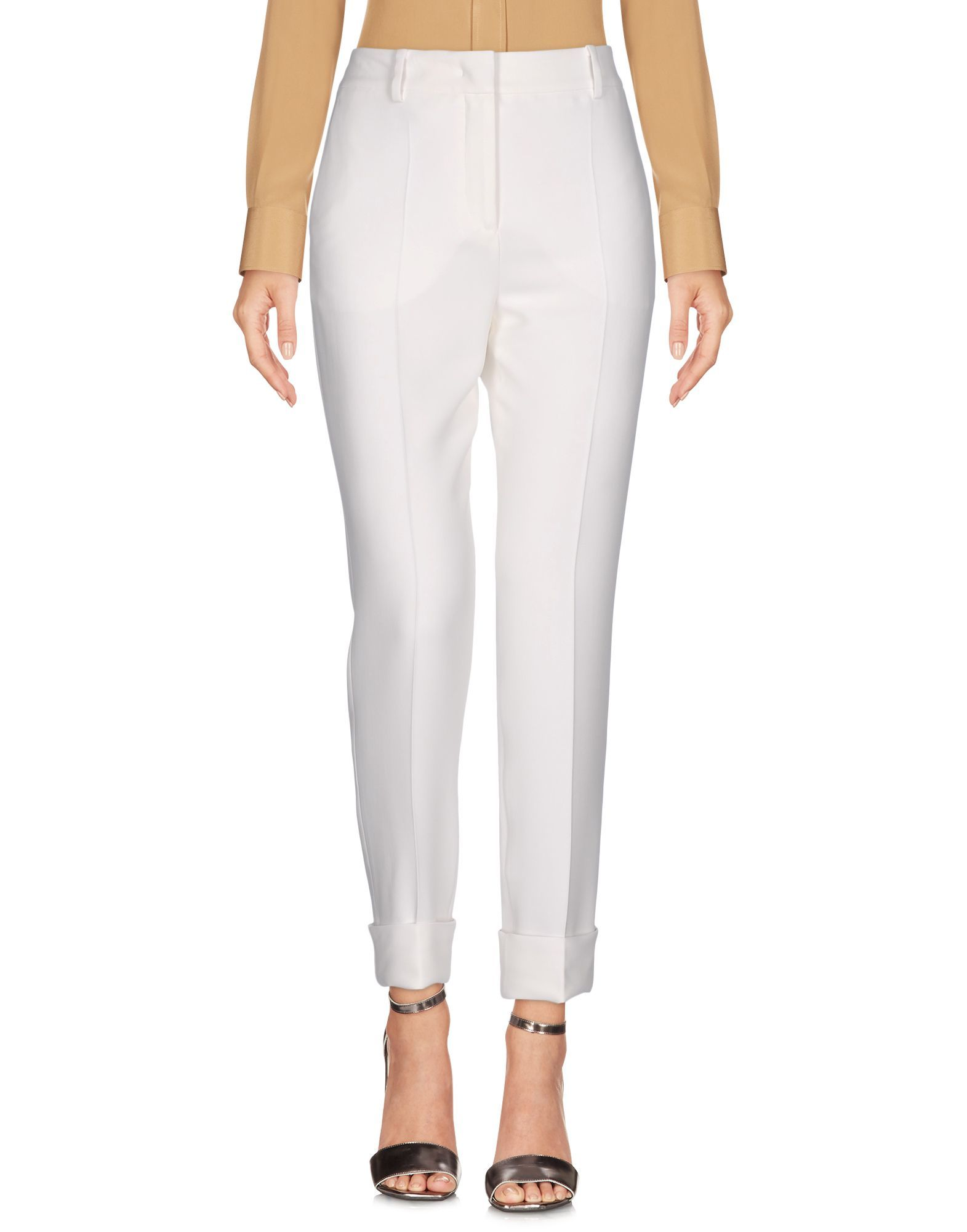 TROUSERS Mant� White Woman Viscose