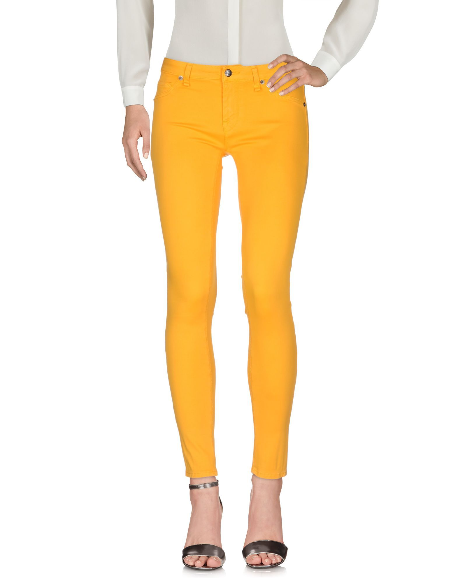 TROUSERS Ro� Roger'S Ochre Woman Cotton