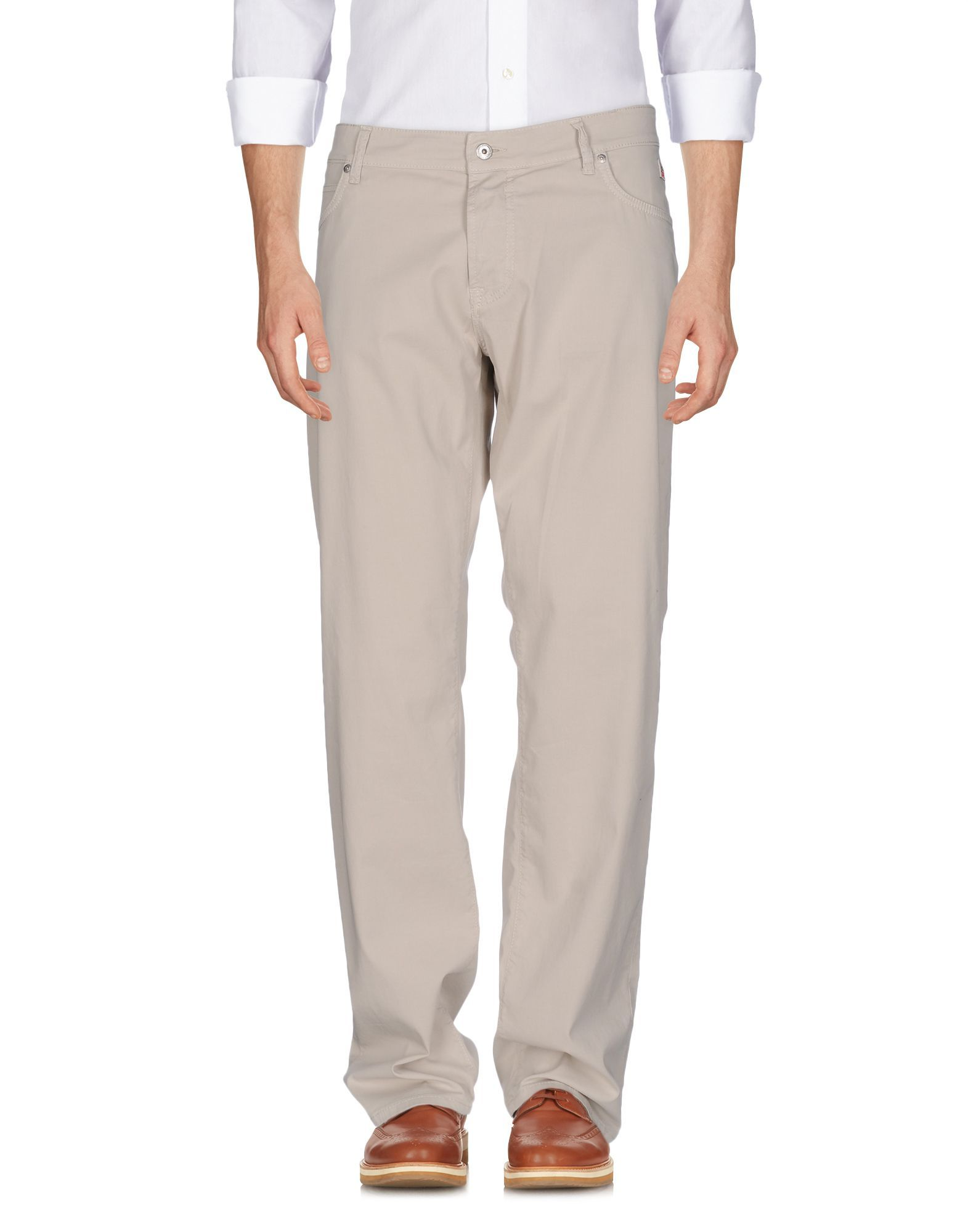 TROUSERS Ro� Roger'S Beige Man Cotton