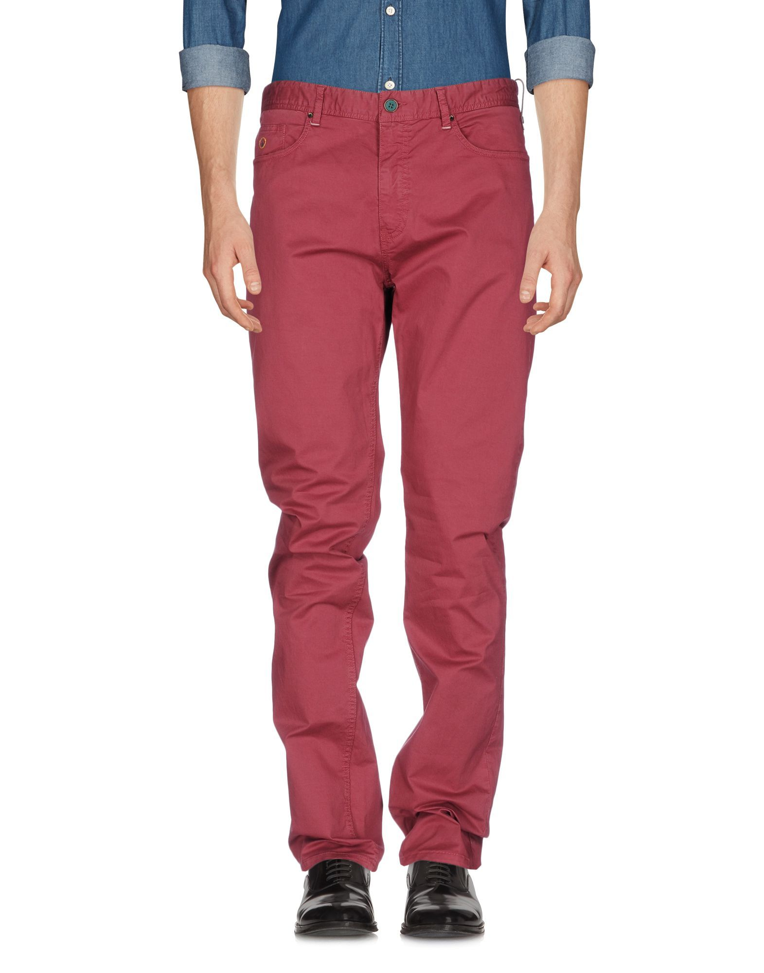 TROUSERS At.P.Co Brick red Man Cotton