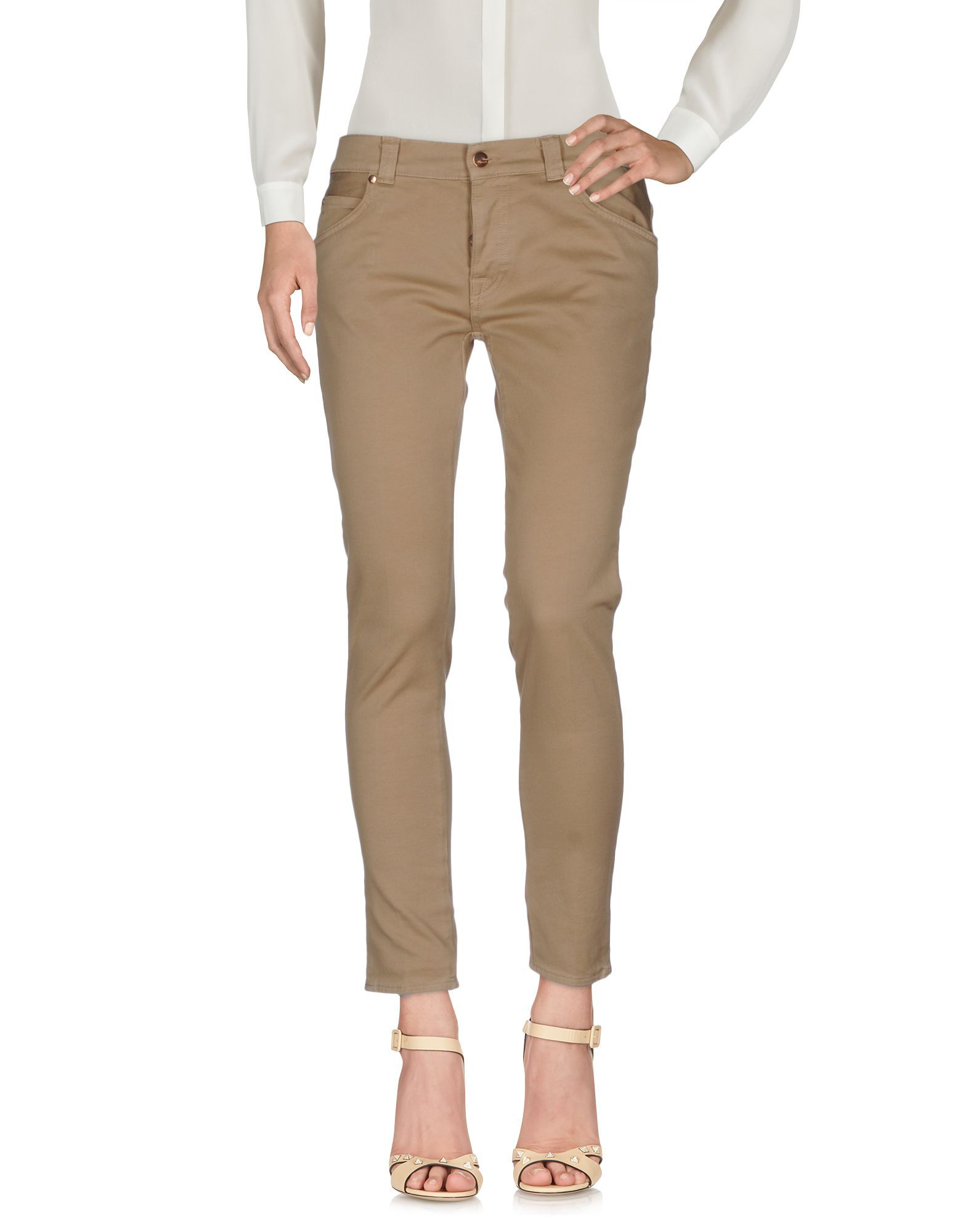 TROUSERS (+) People Sand Woman Cotton