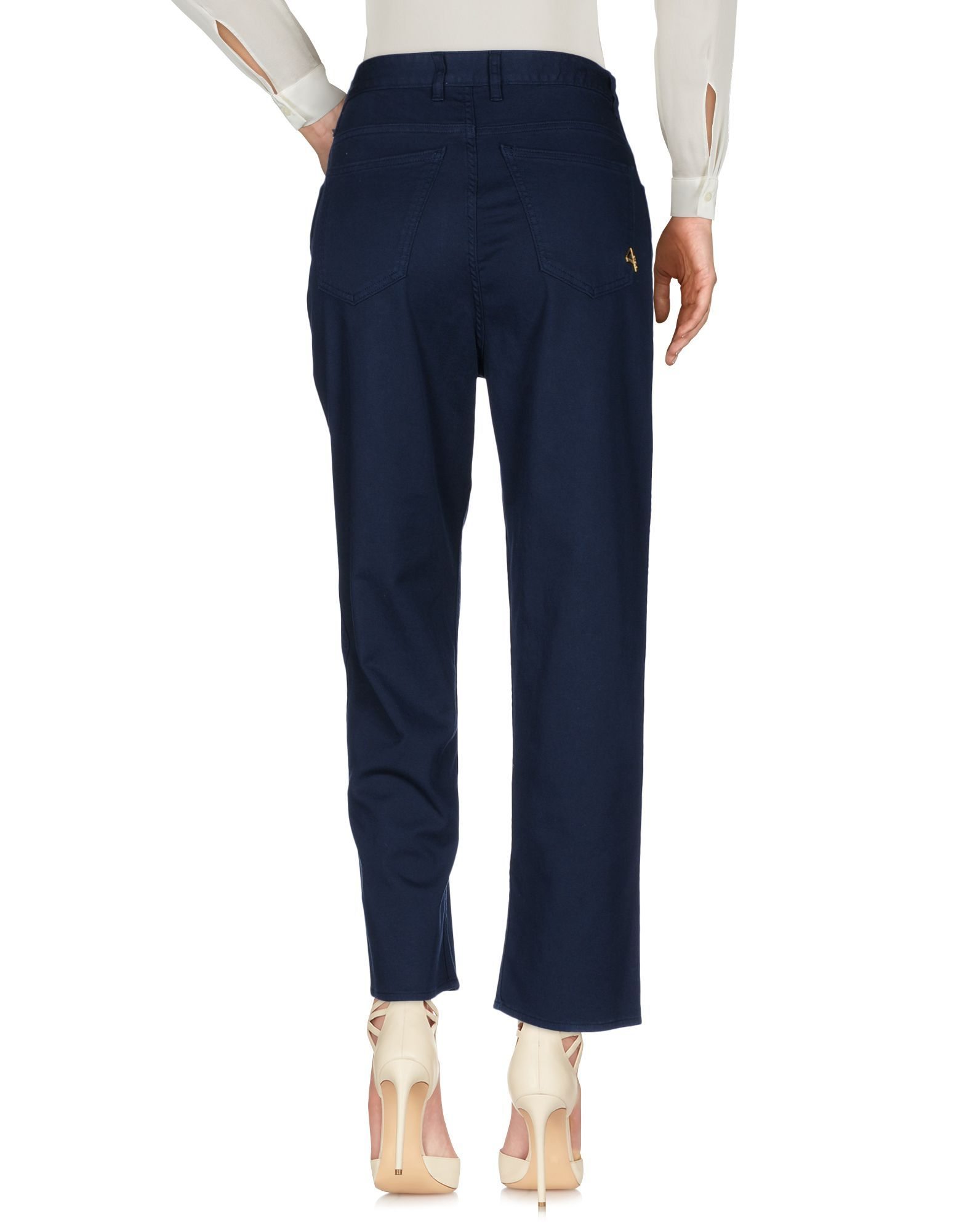 TROUSERS Woman Cycle Dark blue Cotton