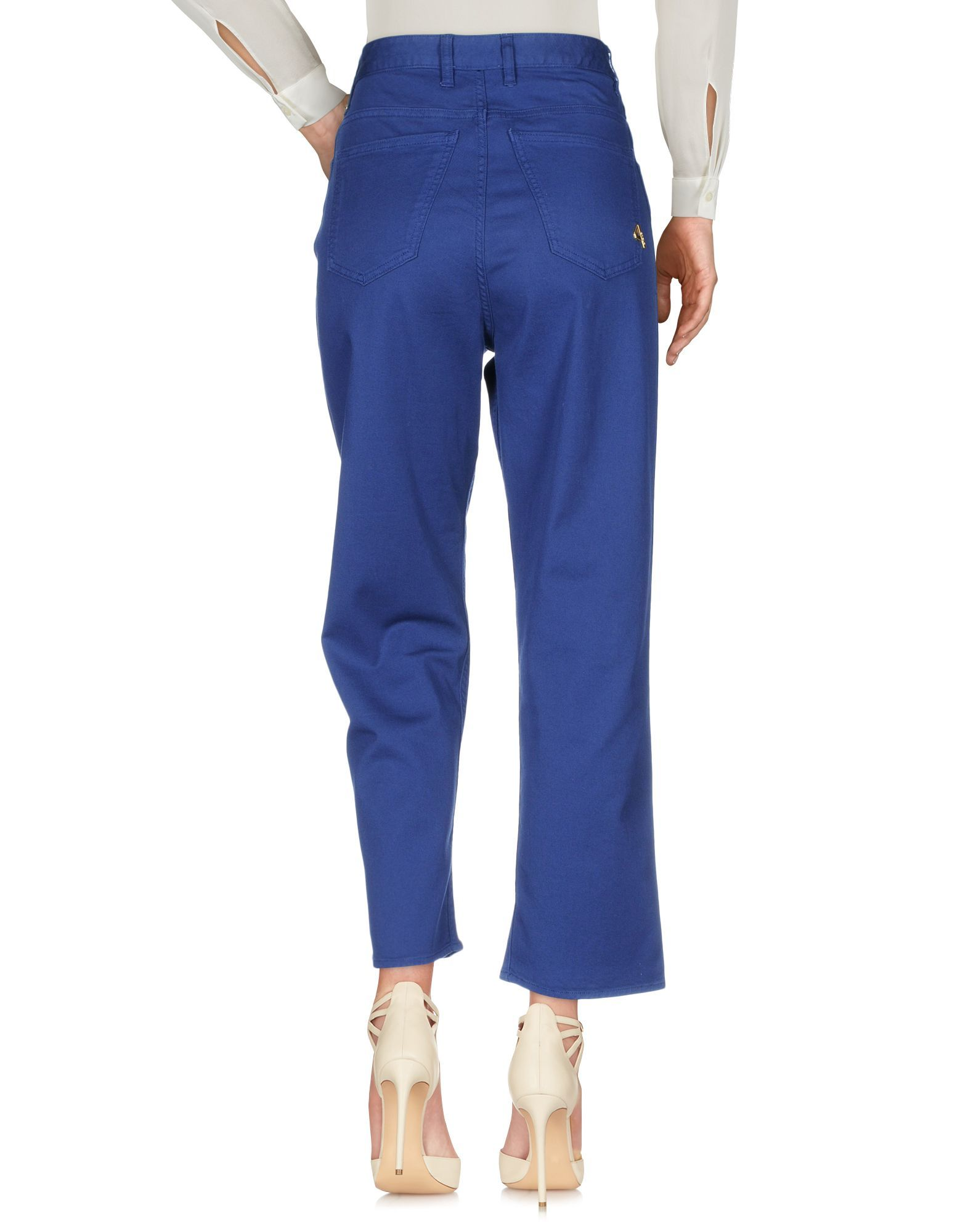 Trousers Women's Cycle Blue Cotton
