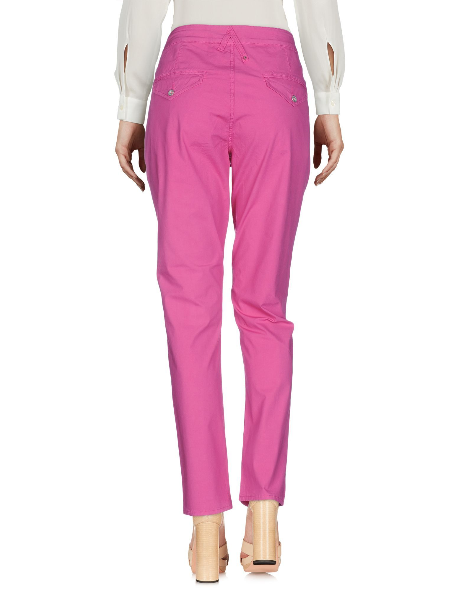 Trousers Women's Cycle Fuchsia Cotton