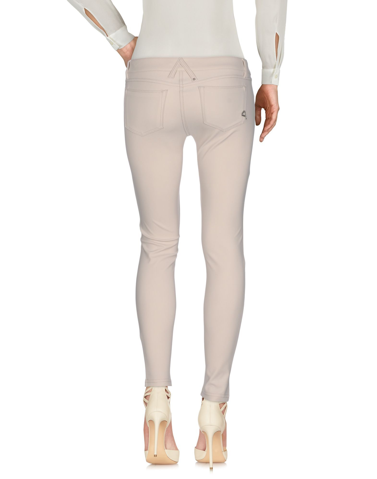 Cycle Light Grey Jersey Tapered Leg Trousers